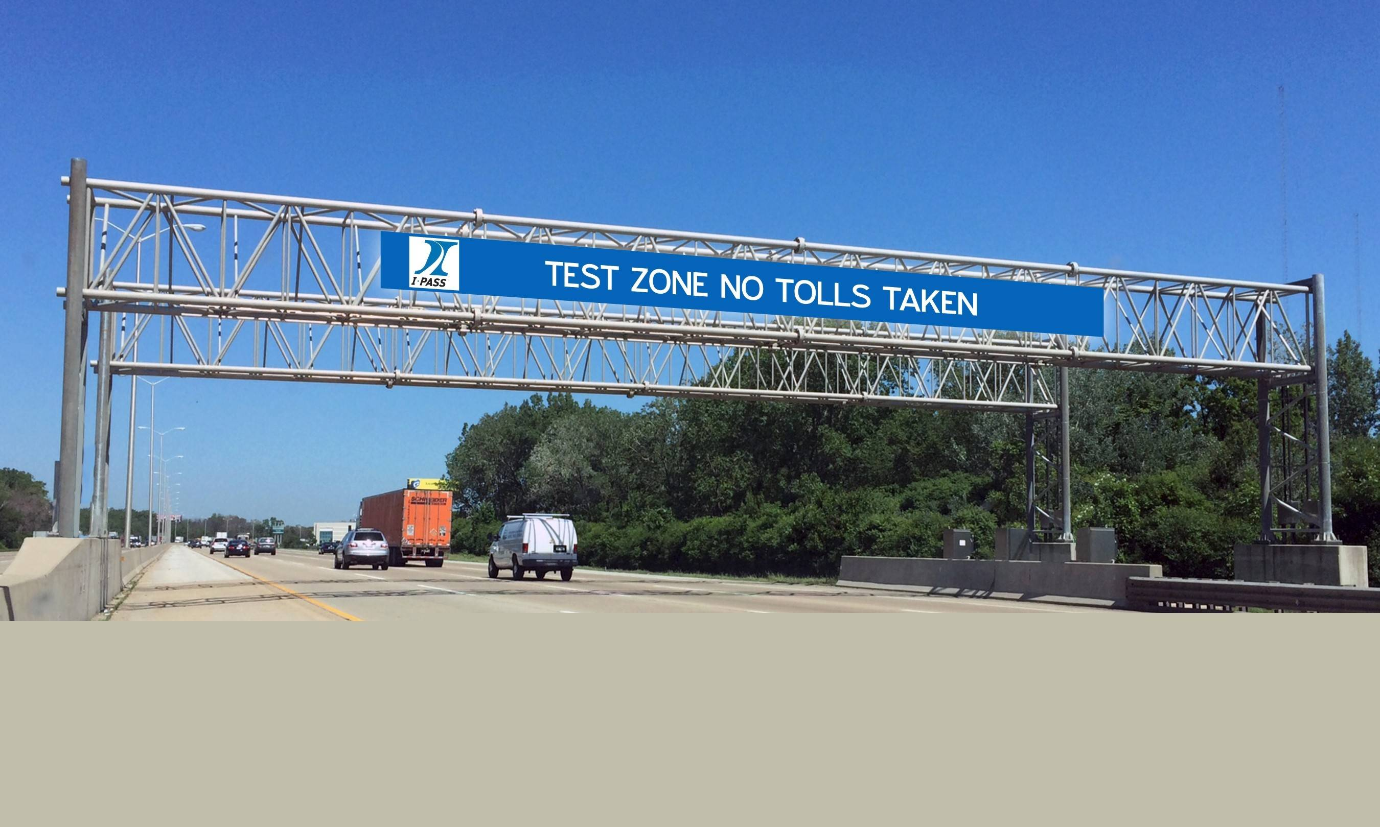 Courtesy Illinois State Toll Highway Authority A new test site on the Tri-State Tollway will give the latest technology and equipment a dry run in real-life conditions.