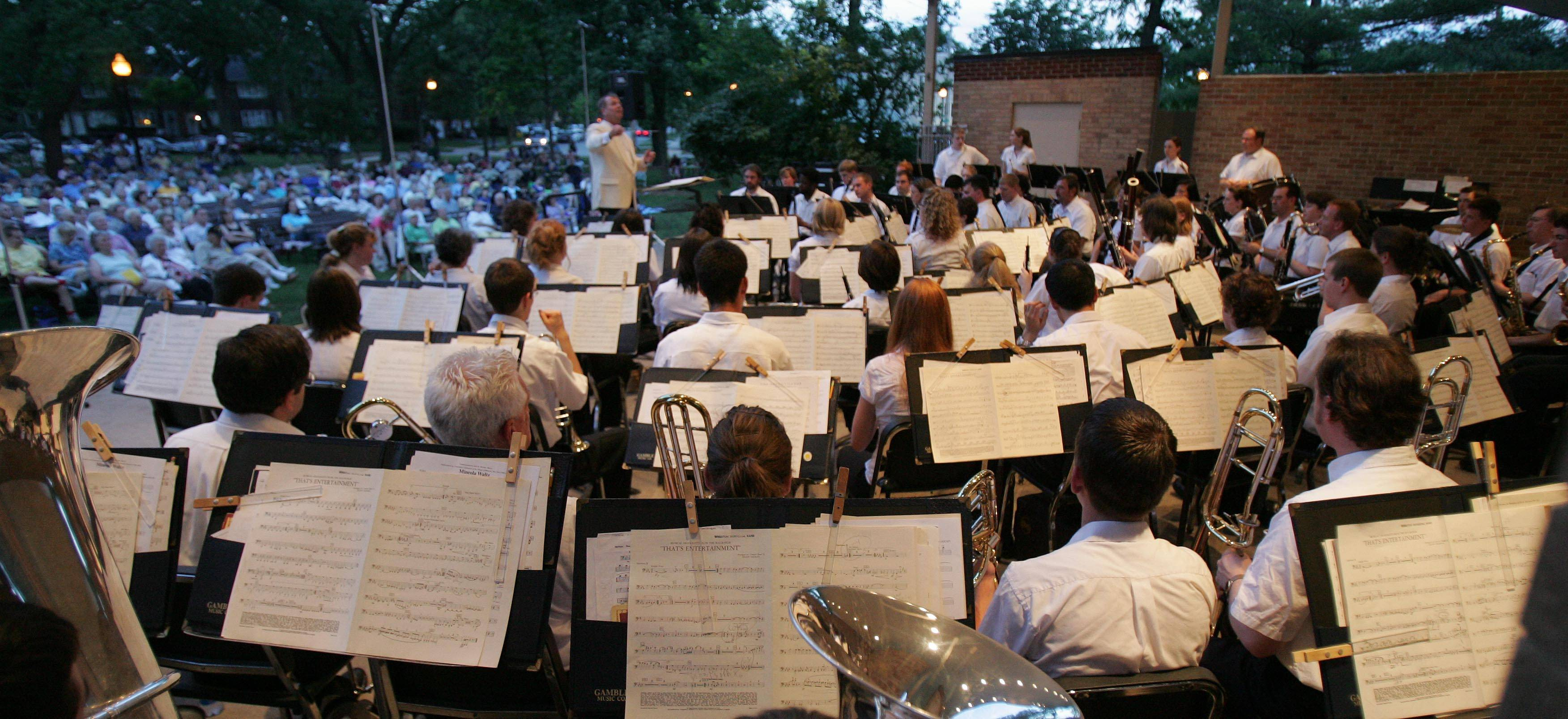 The 15th annual Wheaton Band Festival runs Friday and Saturday, July 18-19, in Memorial Park. Performers include the Nite Hawks and Swing Low Sweet Cadillac.