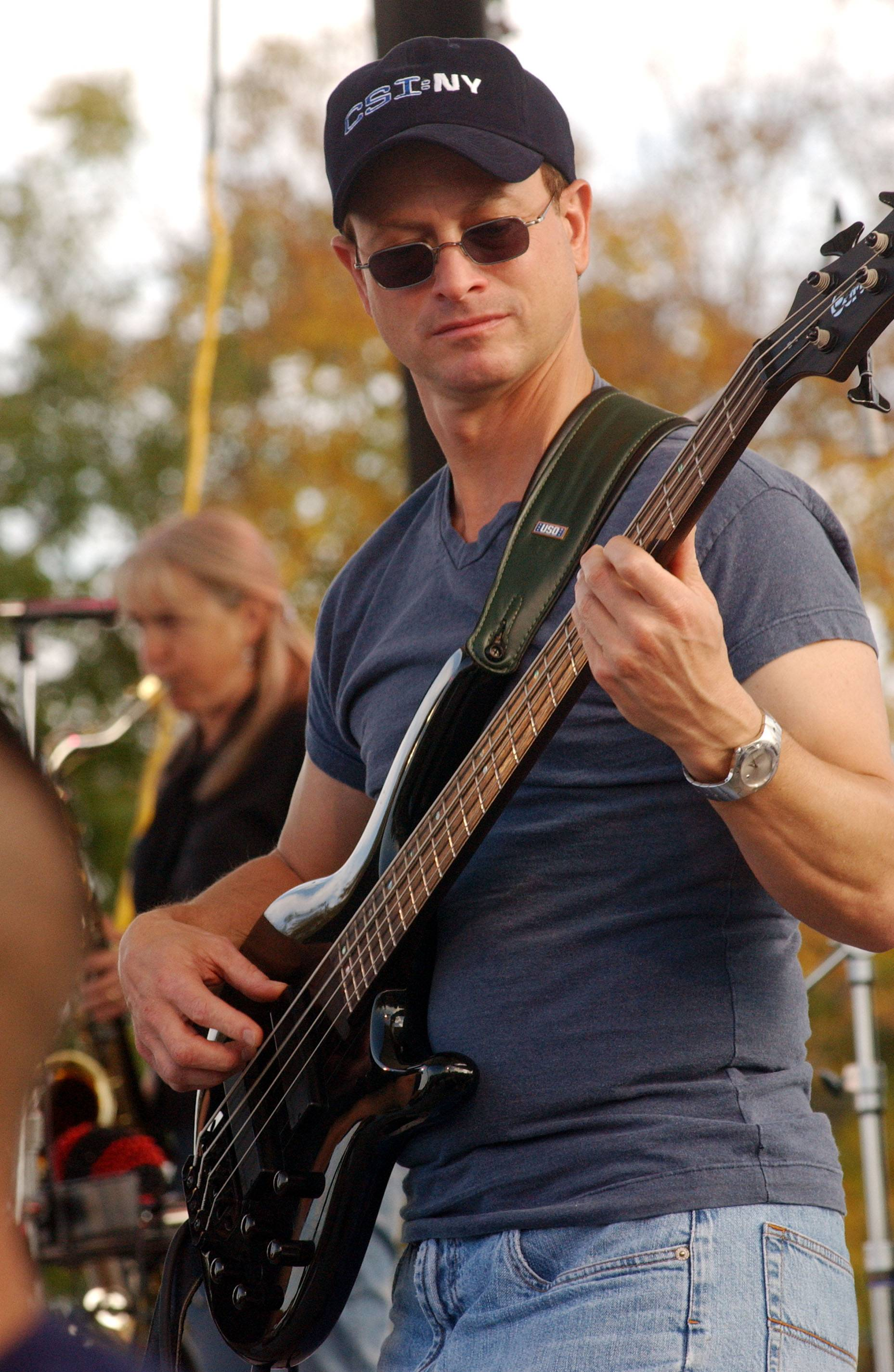 Gary Sinise, who attended Glenbard West High School as a freshman, says he was a musician long before he became an actor. His Lt. Dan Band will headline Saturday's Rockin' for the Troops concert at Cantigny Park.