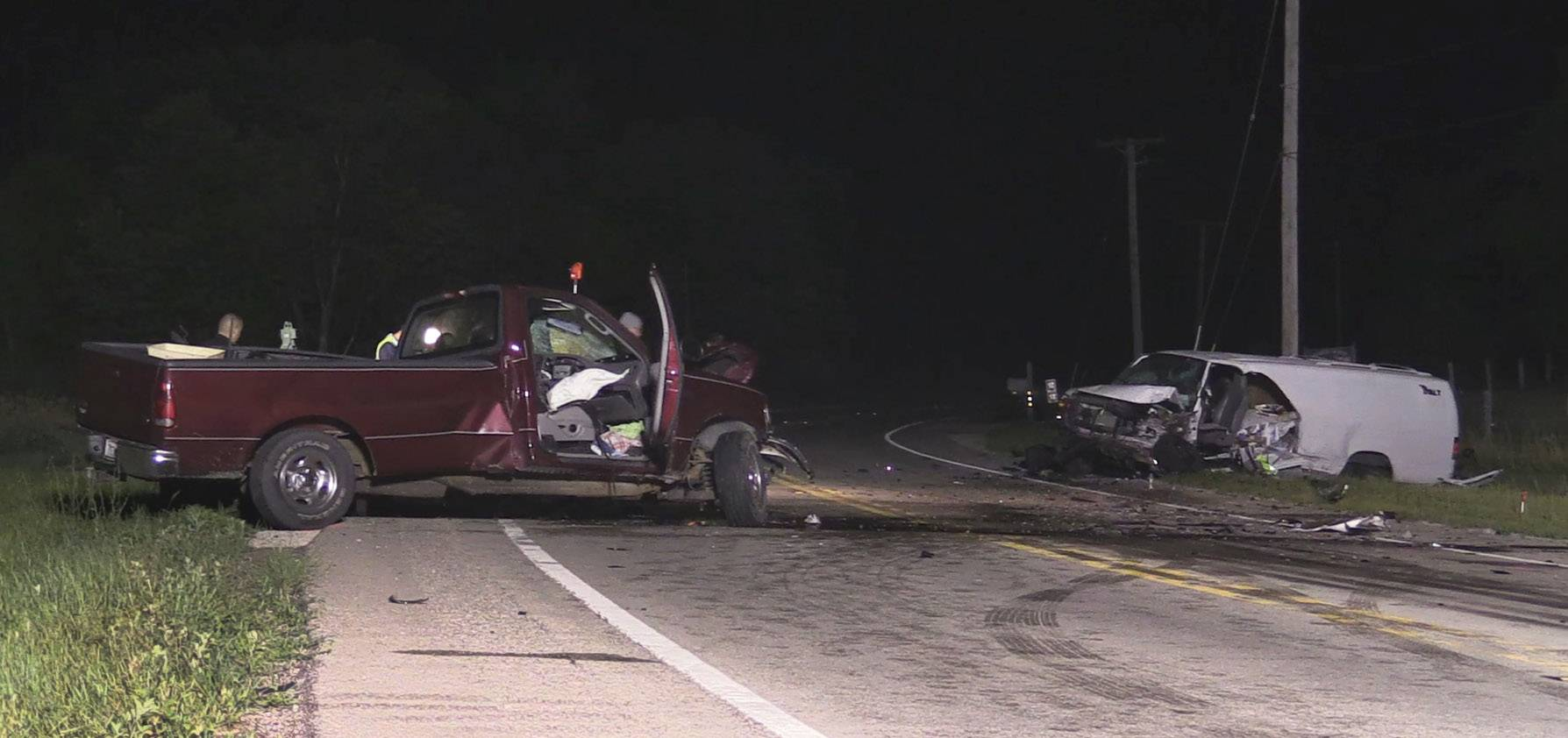 One man was killed and another airlifted to a hospital following a crash at route 47 and Route 20 in Pingree Grove.