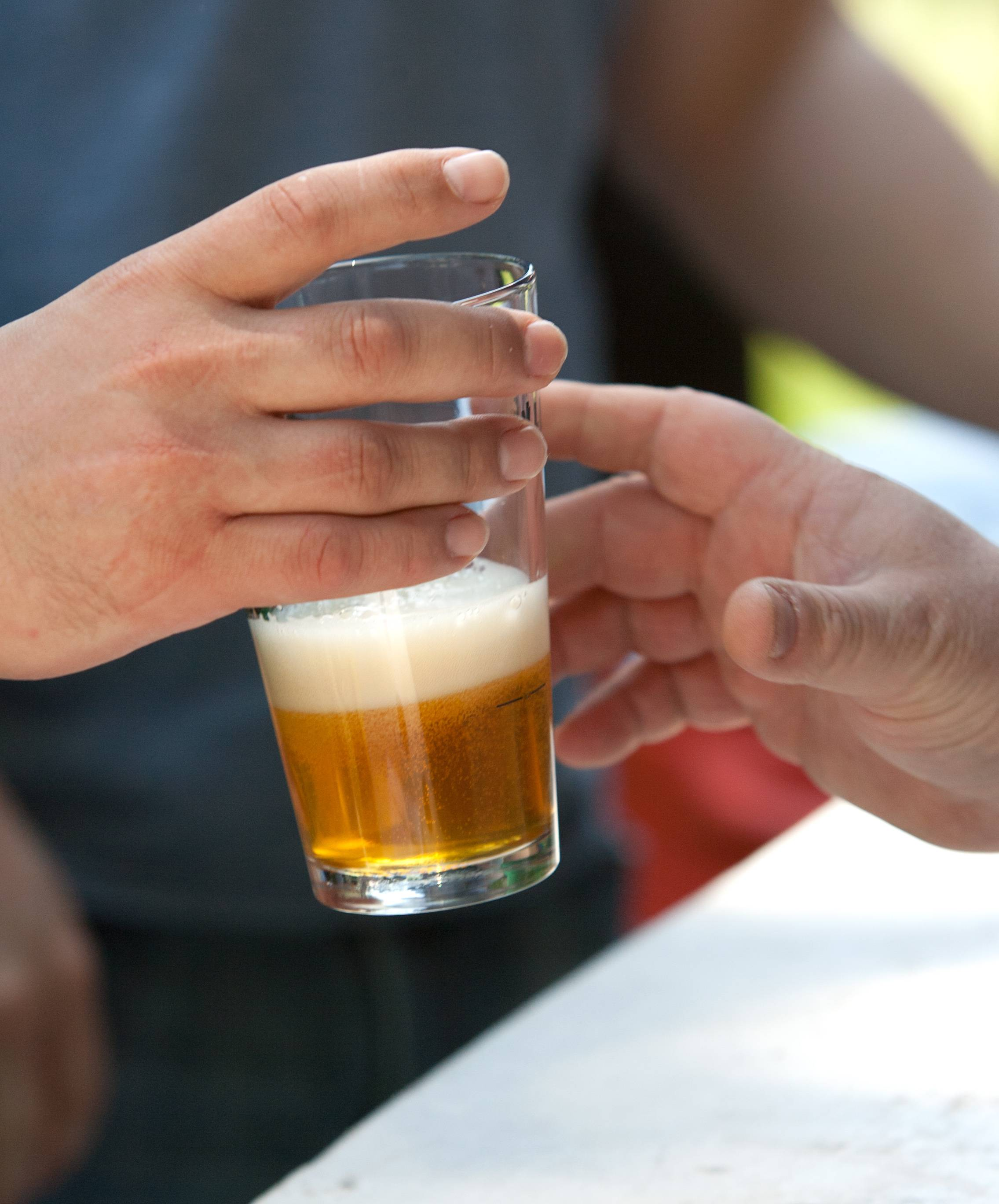 "Craft brews and hard ciders are served in 3-ounce samples at the Naperville Ale Fest. ""Life is too short to drink beer you don't enjoy,"" organizer Josh Seago says."