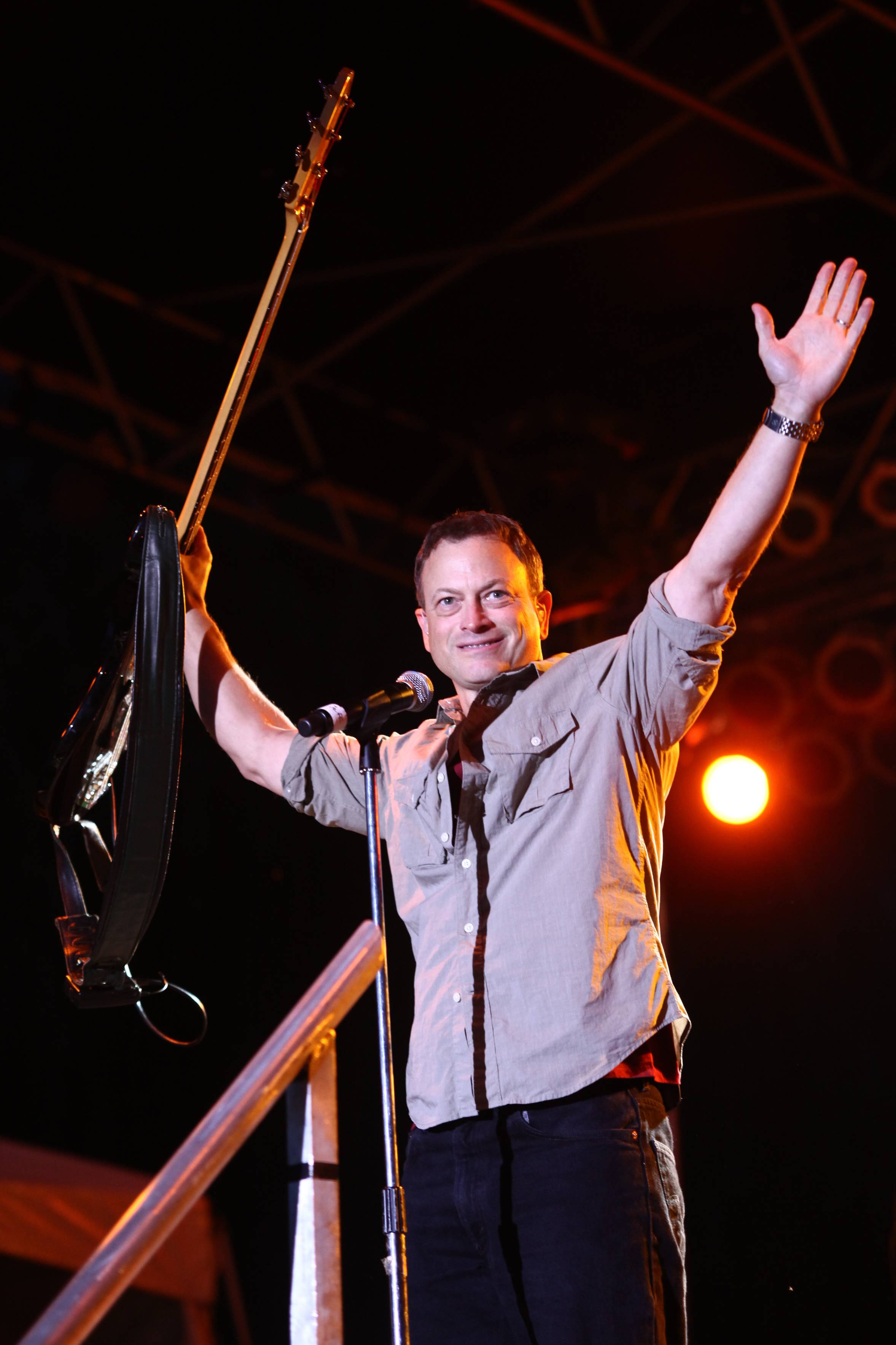 Gary Sinise and his Lt. Dan Band will return to Cantigny Park Saturday for the ninth annual Rockin' for the Troops concert to benefit Operation Support Out Troops -- America,
