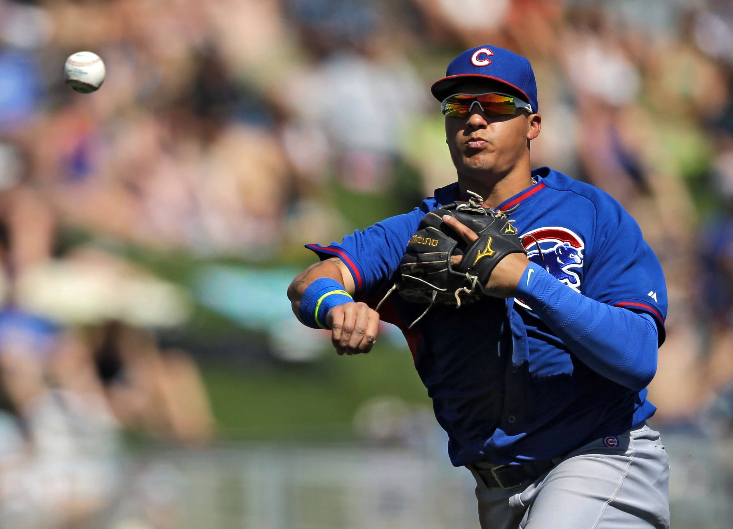 Cubs prospect Javier Baez got off to a slow start with the bat this season, but his defensive work for the Triple-A Iowa Cubs has been solid.