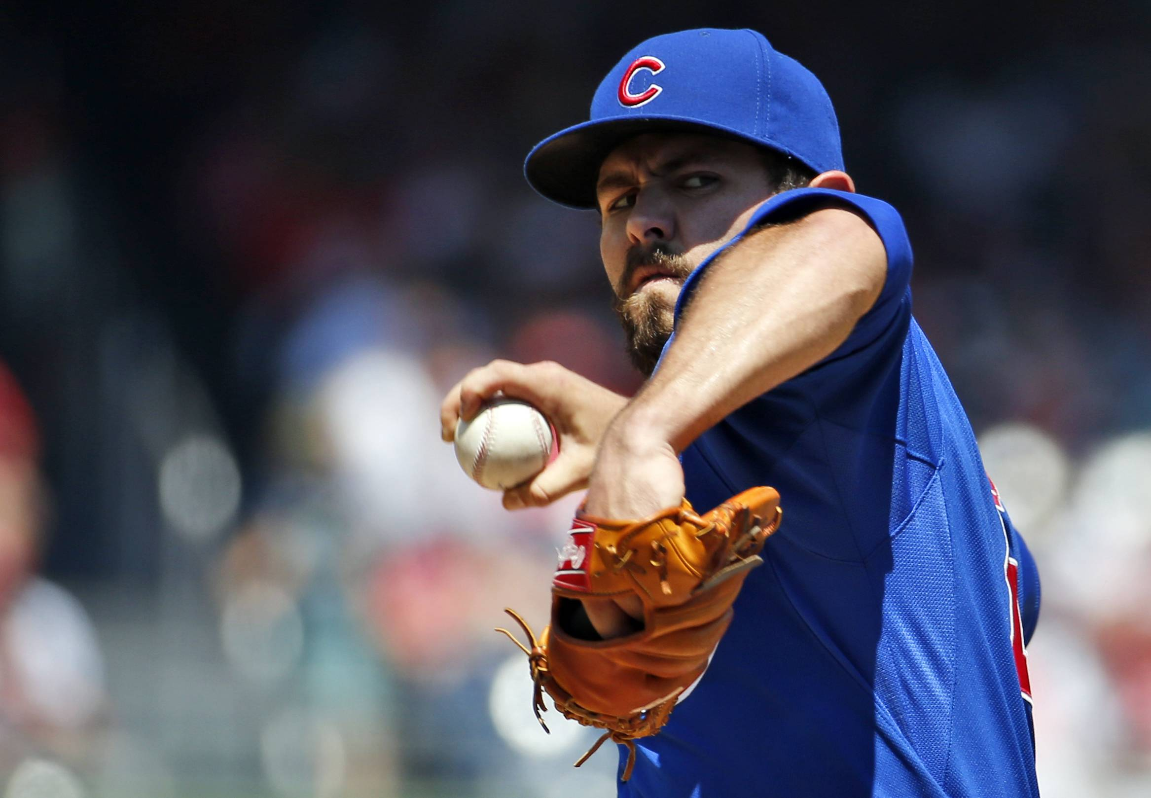 Jake Arrieta's now the ace of the starting rotation, and there are two spots for the Cubs to give some young pitchers a look.