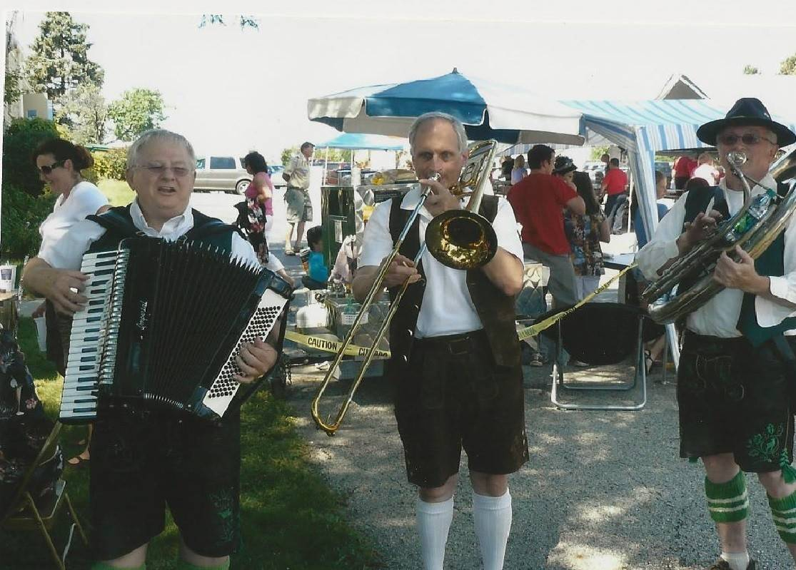 The Alpiner musicians will provide musical entertainment at St. Matthew Lutheran Church's 24th annual Pig Roast.