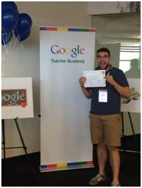 Crystal Lake Elementary District 47's Corey Holmer recently became a Google certified teacher and trainer.