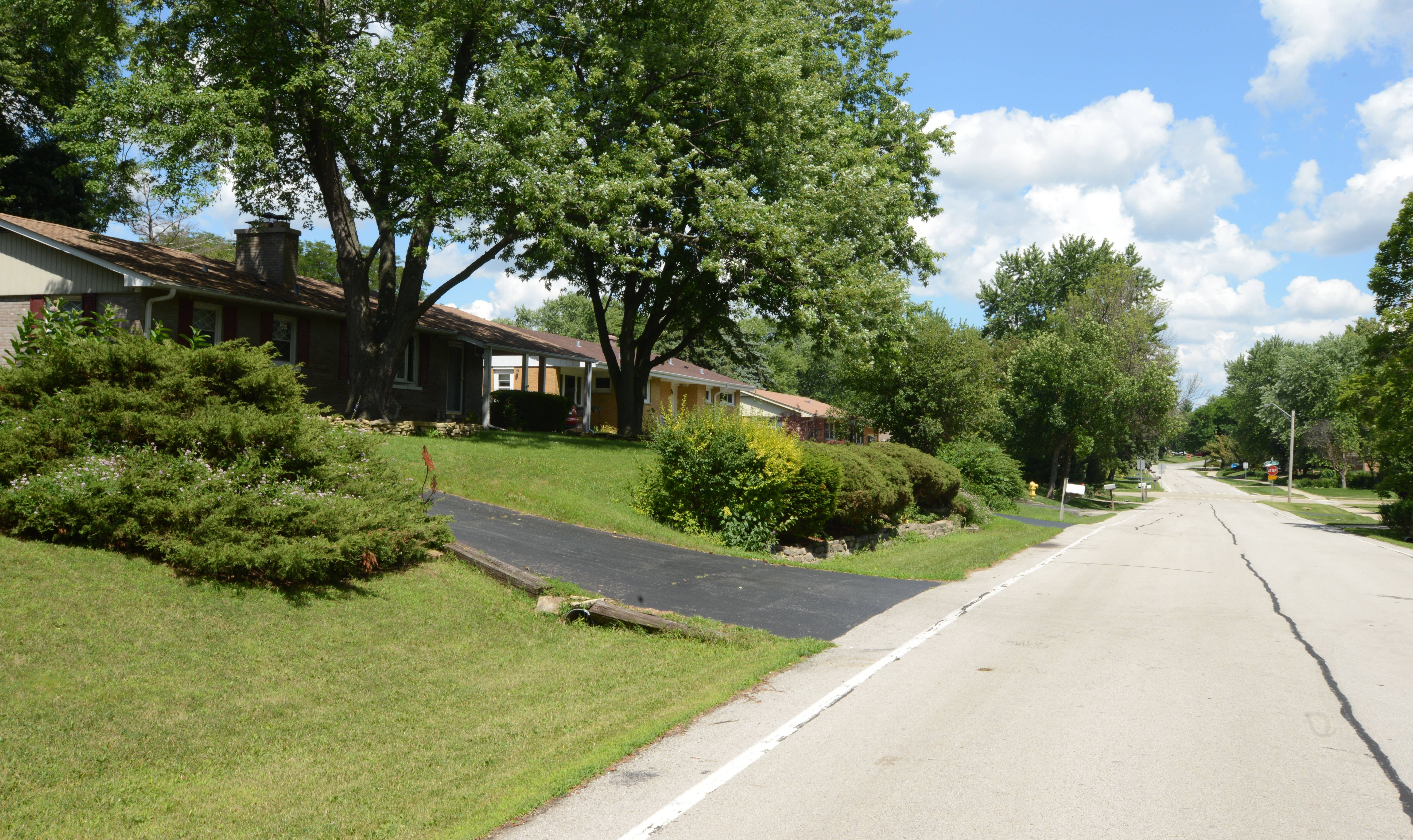 Oakview is considered the first neighborhood in Lisle, which became a village in 1956. The subdivision has a mix of older and new homes along wide streets.