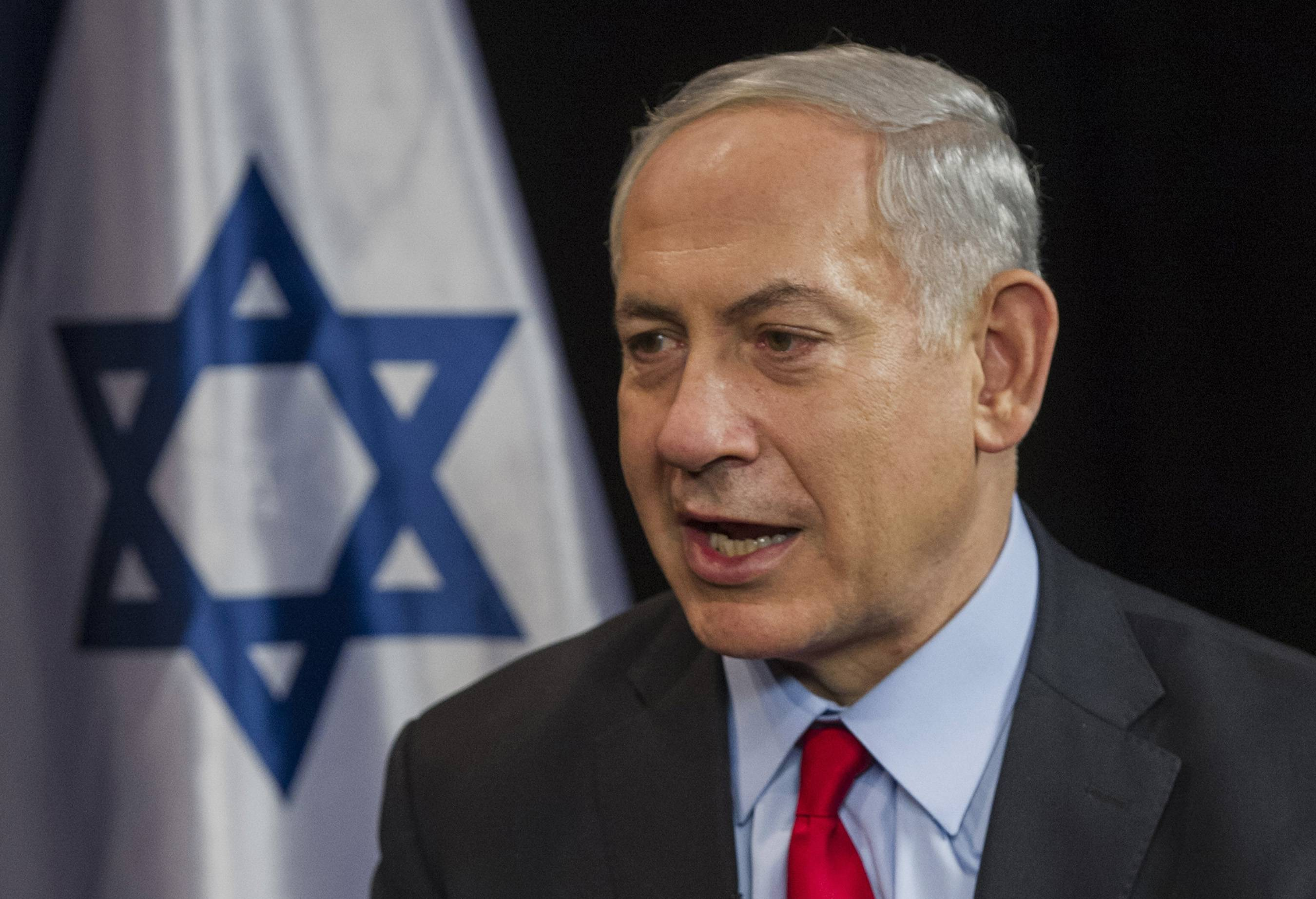 Associated PressBenjamin Netanyahu