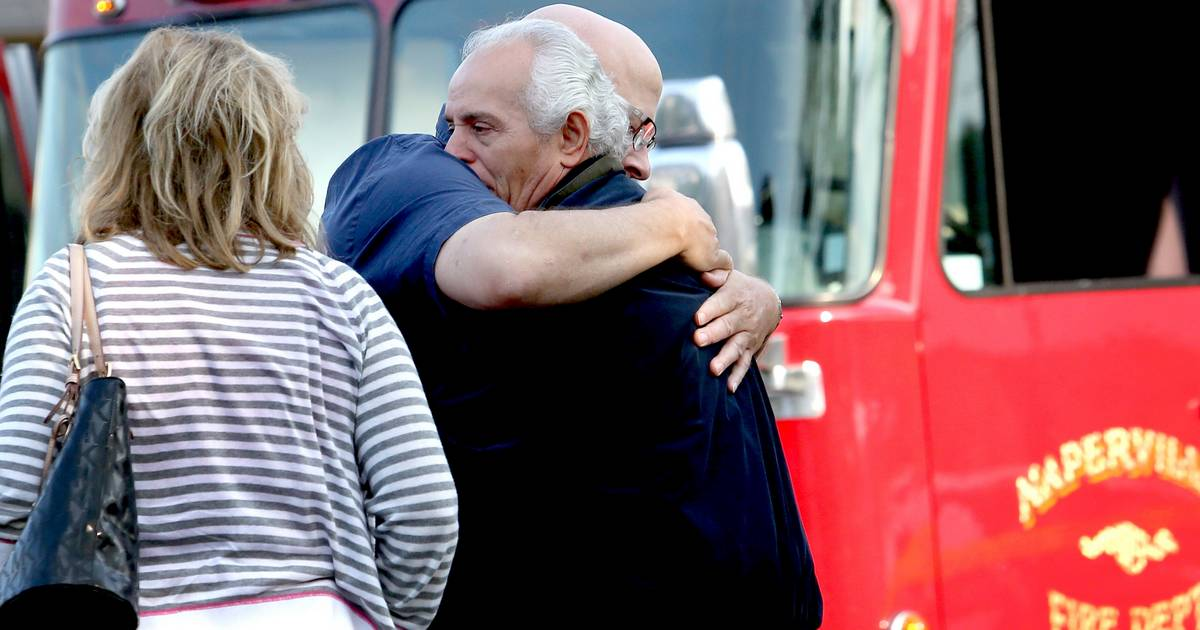 Tears Hugs And Prayers After Fire Ravages Napervilles Grandma Sallys