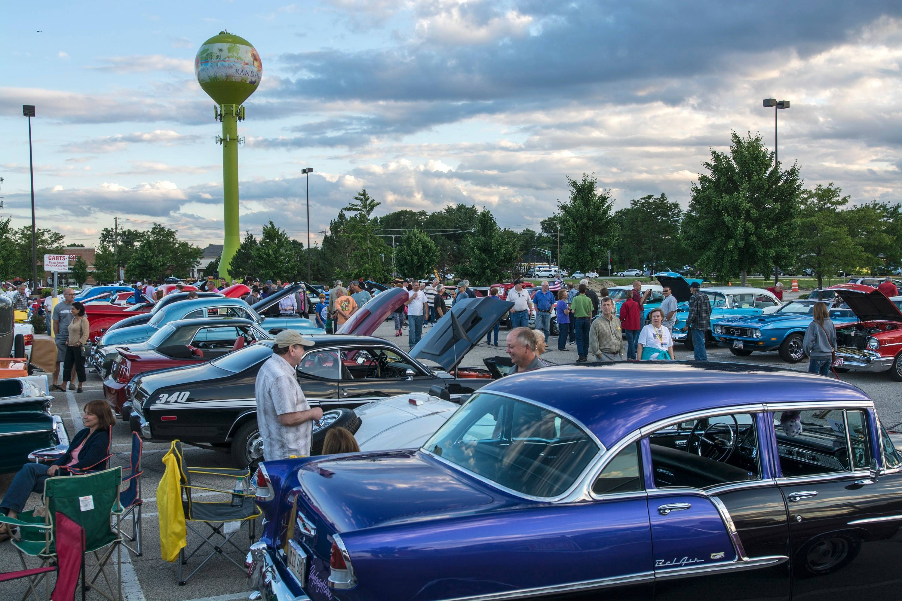 More than 230 vehicles and their owners attended Wednesday's Randhurst Village Cruise Night in Mount Prospect.