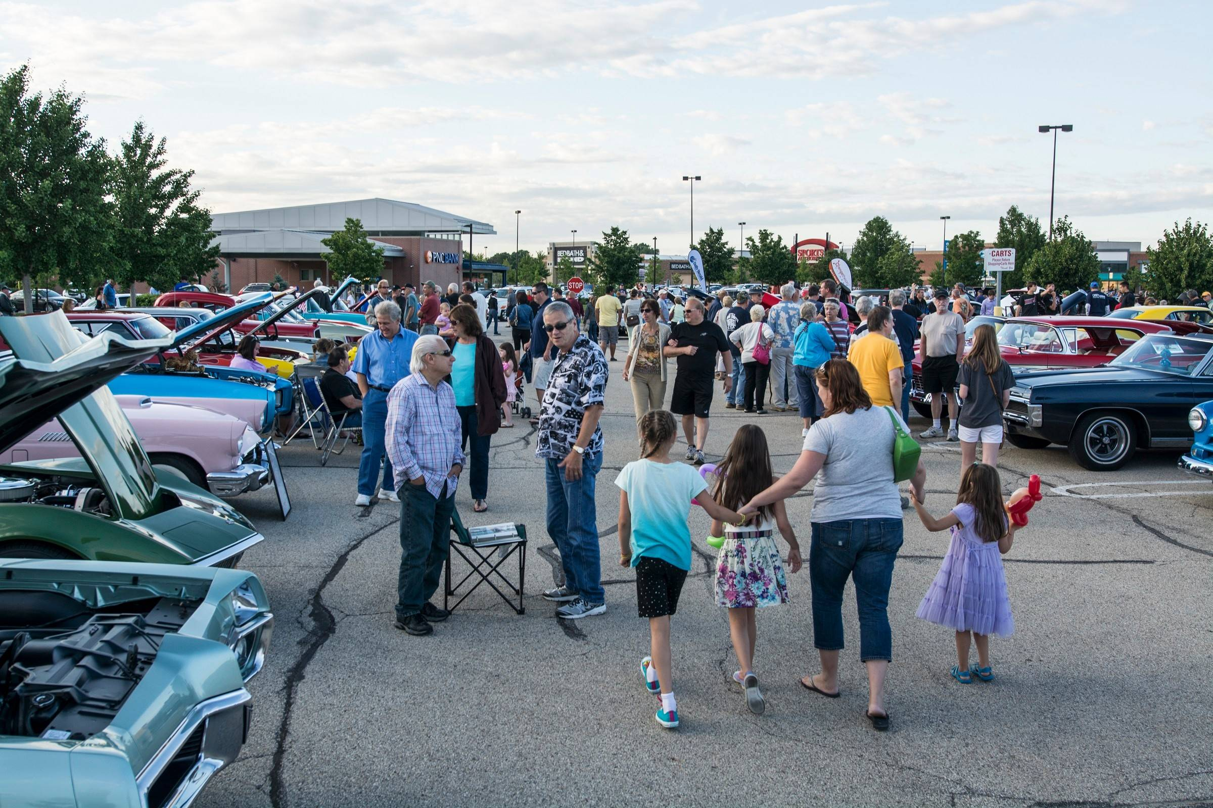 Hundreds of spectators came out to view the cars at the second of three Randhurst Village Cruise Nights being held this summer. The final show will be on Aug. 20.