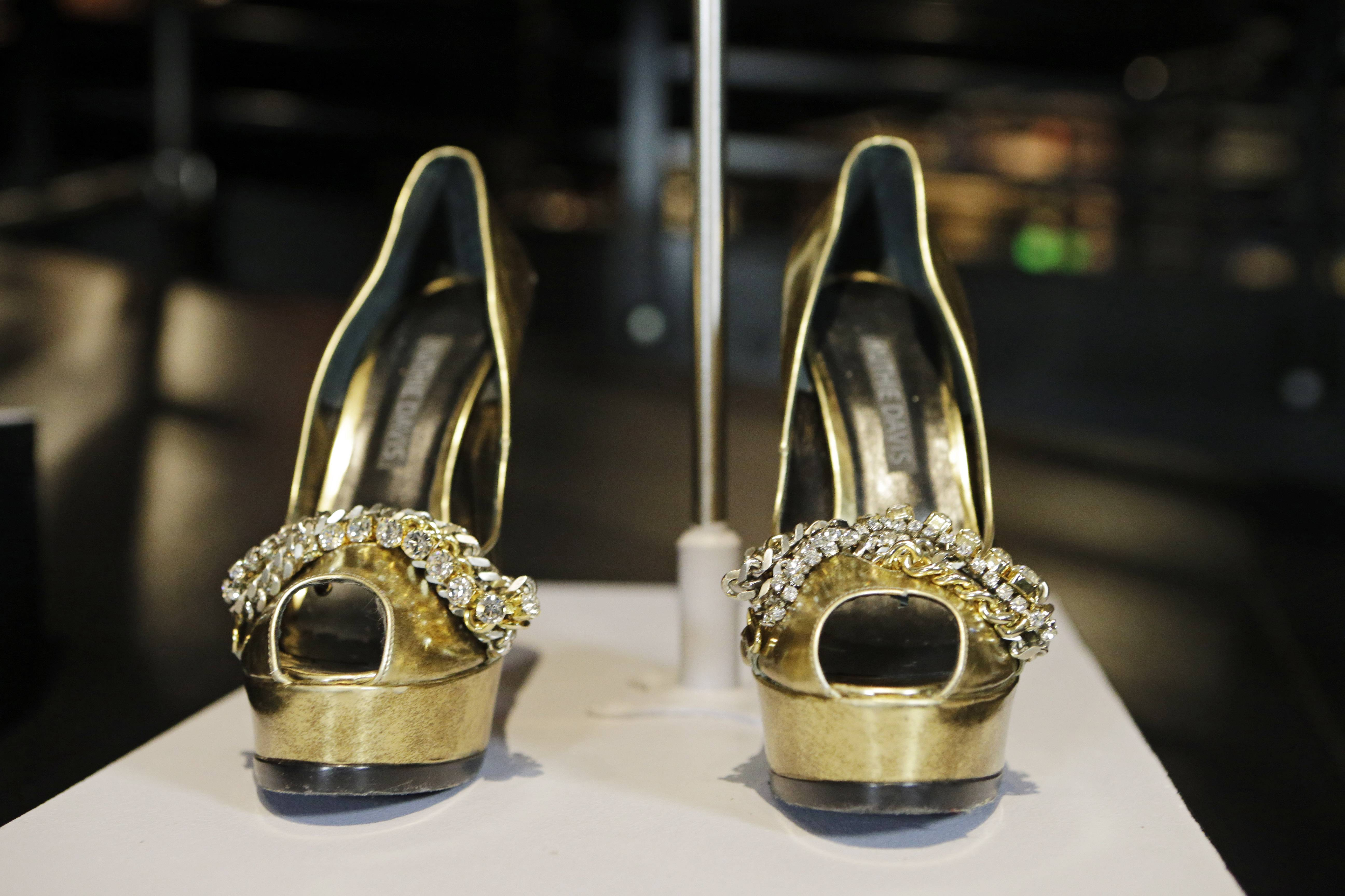 "The shoes from Beyonce's ""Sweet Dreams."""