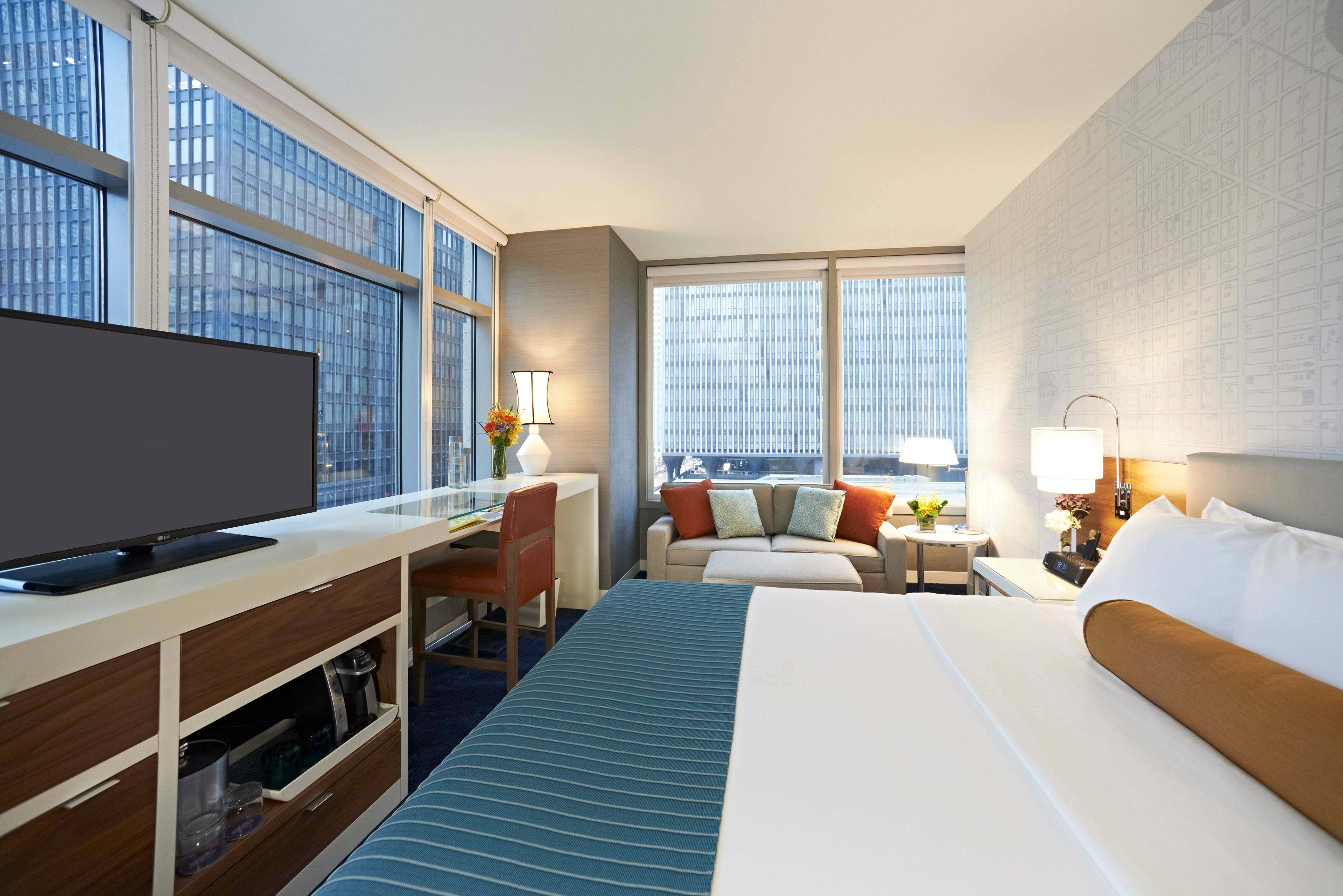 The boutique Kinzie Hotel offers cool packages this summer for bike riders, families, club scenesters, and Lollapalooza goers.