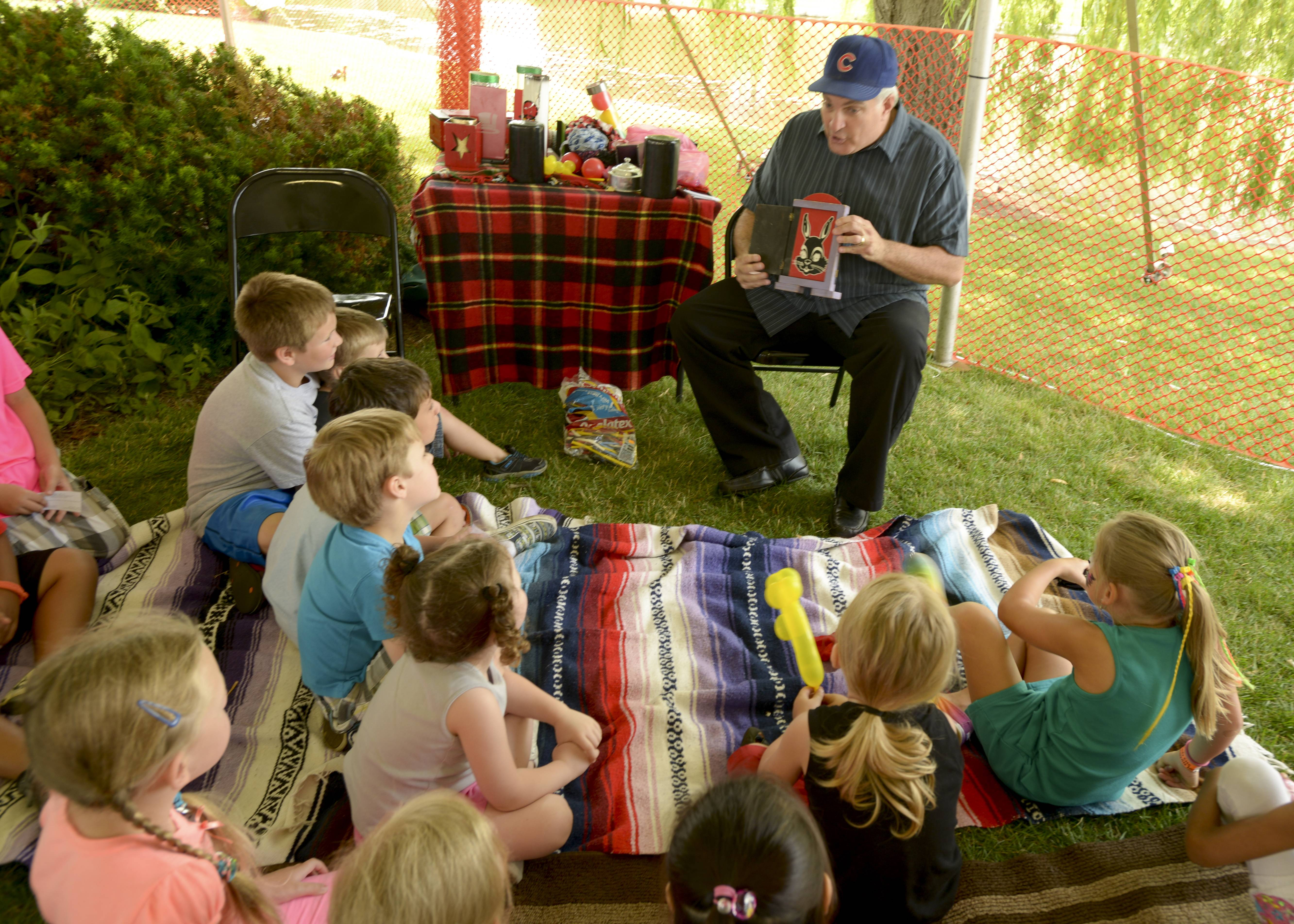 Al Brodosky presents a free magic show for children Saturday at the Vernon Hills Summer Celebration. Brodsky is a longtime Vernon Hills resident and professional magician and entertainer.
