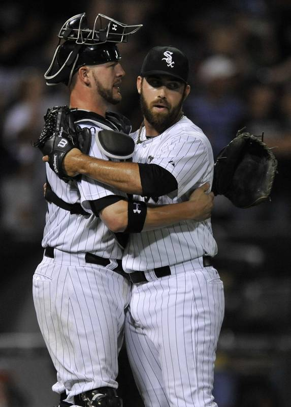 Konerko white sox not really good but not bad either white sox reliever zach putnam right celebrates with catcher tyler flowers after picking up mightylinksfo