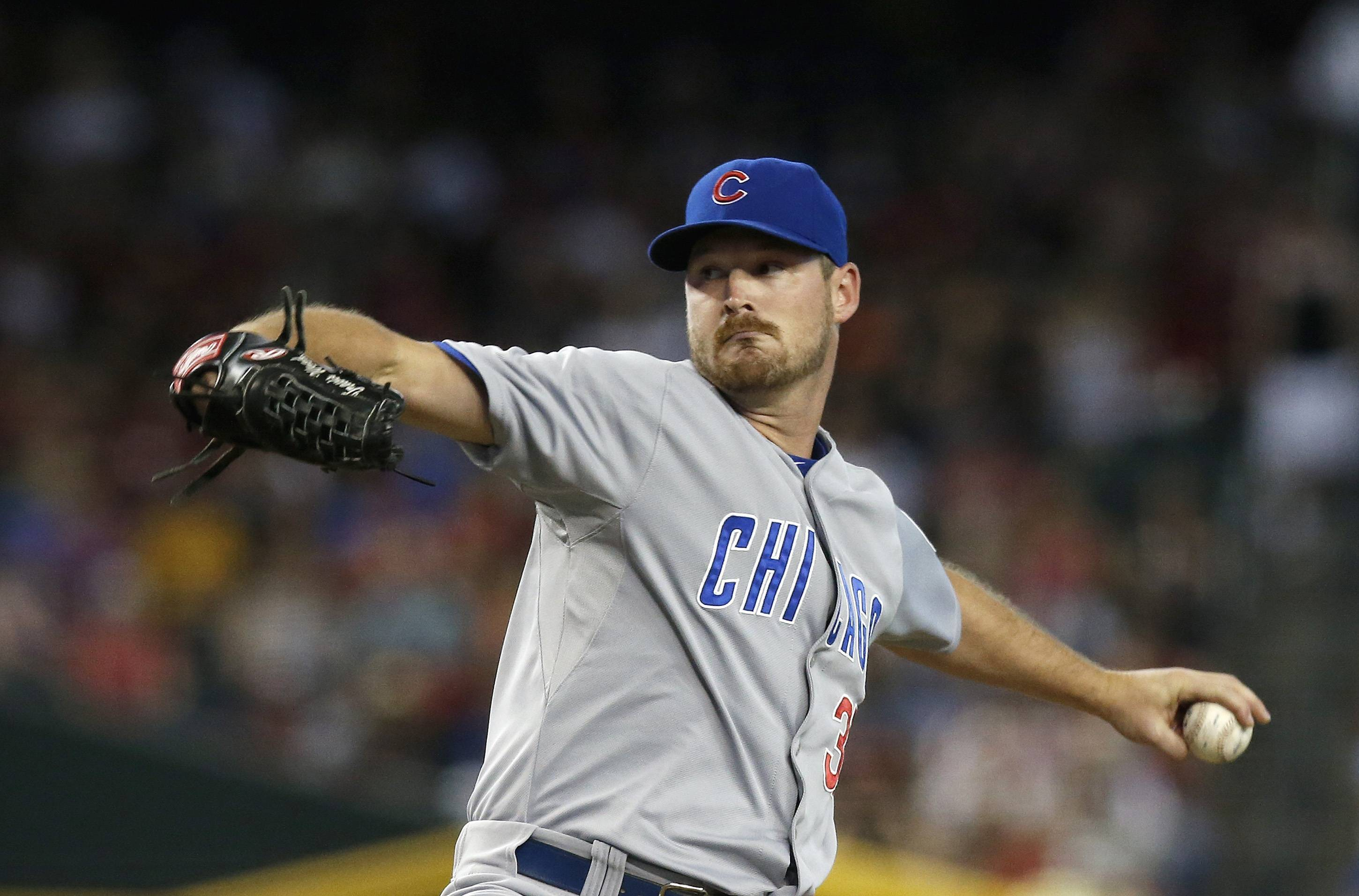 Cubs starter Travis Wood has taken a big step backward this season.
