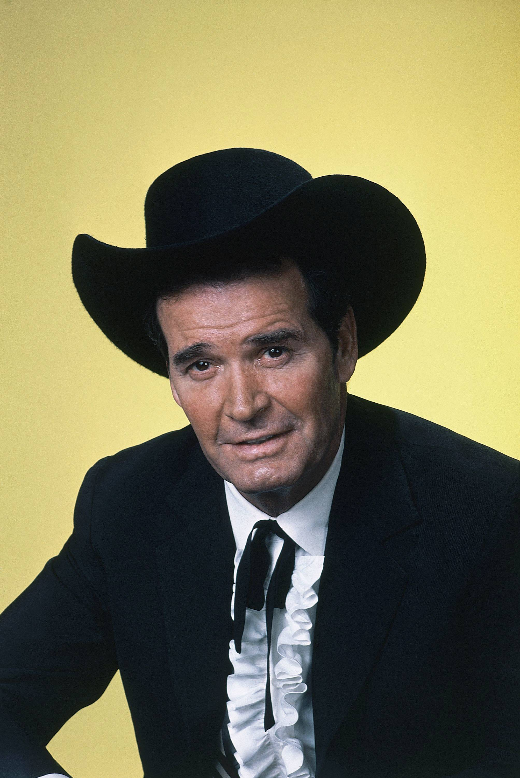 "Actor James Garner is shown in character in this April 7, 1982 file photo. Actor James Garner, wisecracking star of TV's ""Maverick"" who went on to a long career on both small and big screen, died Saturday July 19, 2014 according to Los angeles police. He was 86."