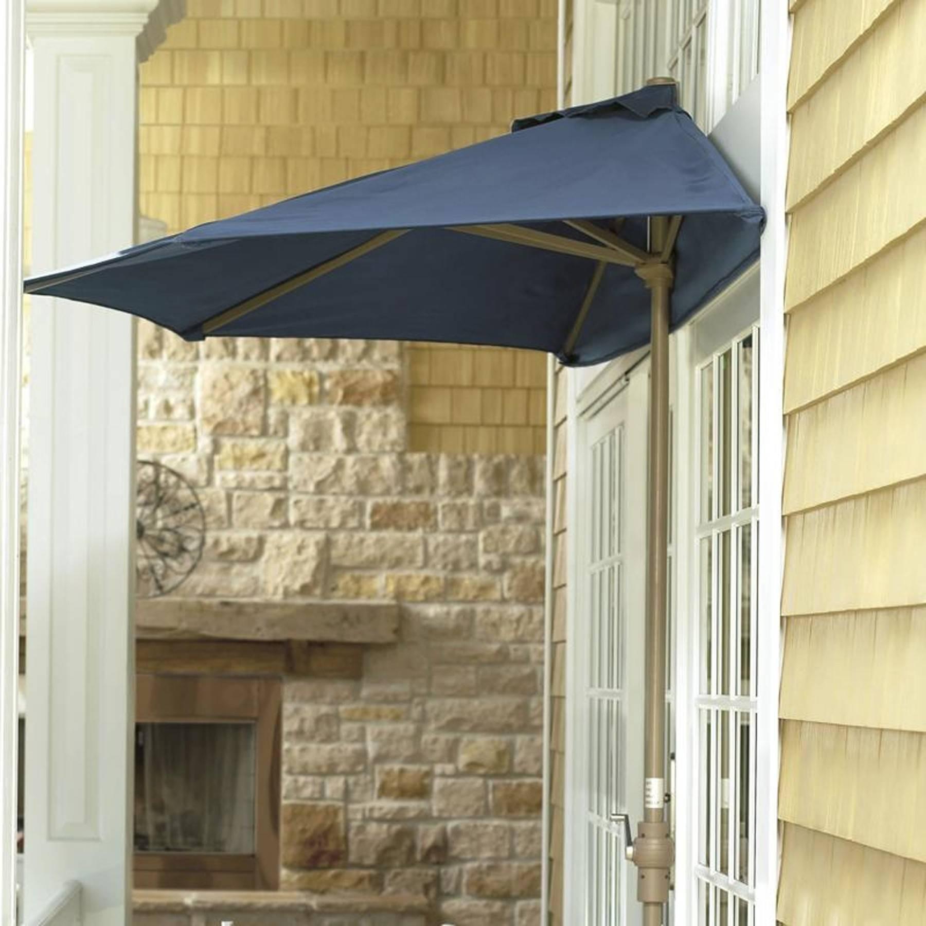Great In Super Tight Spaces, Utilize The Half Umbrella Style