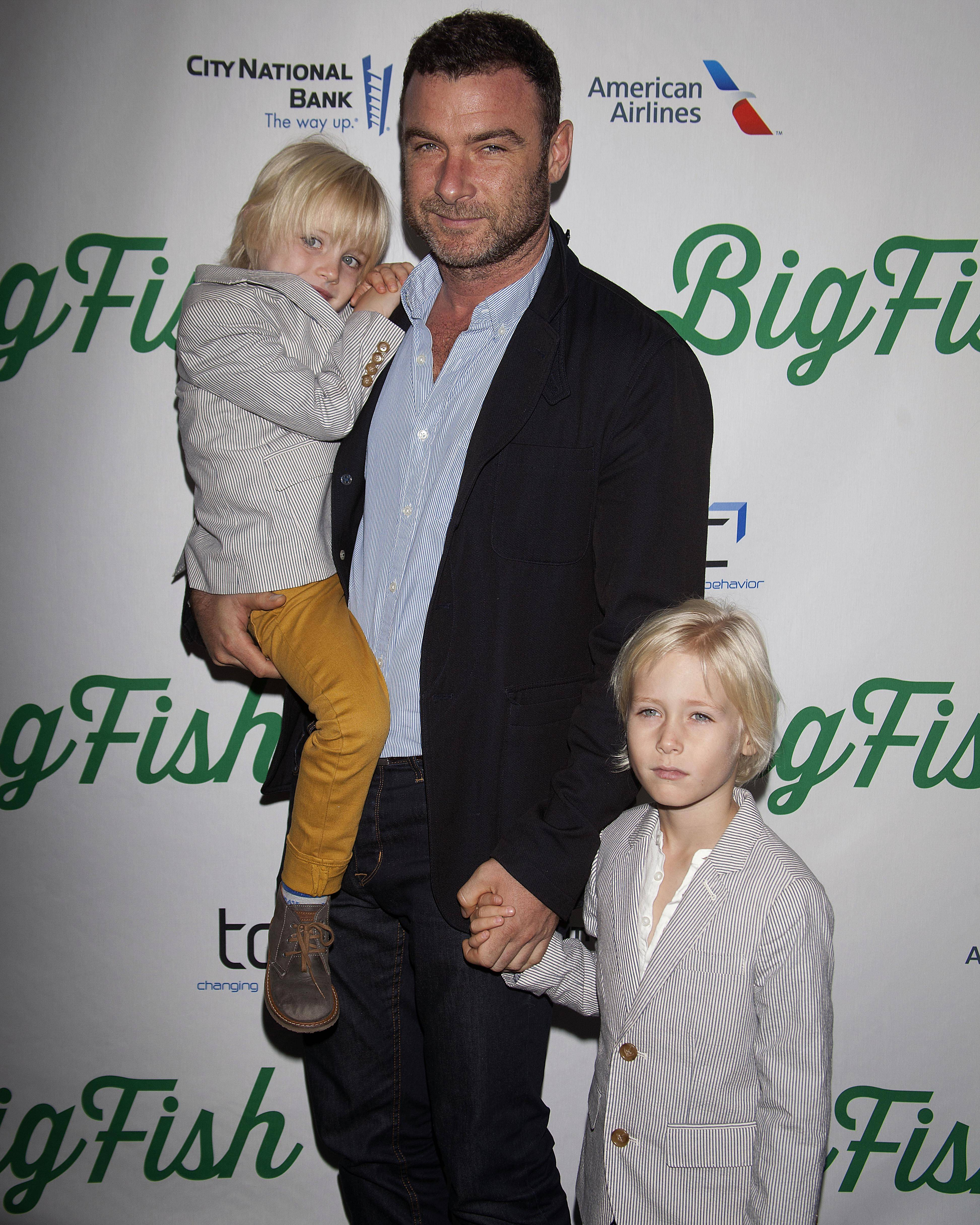 Actor Liev Schreiber has made it a priority to spend time with his two sons with longtime partner Naomi Watts -- 6-year-old Sasha and 5-year-old Samuel.
