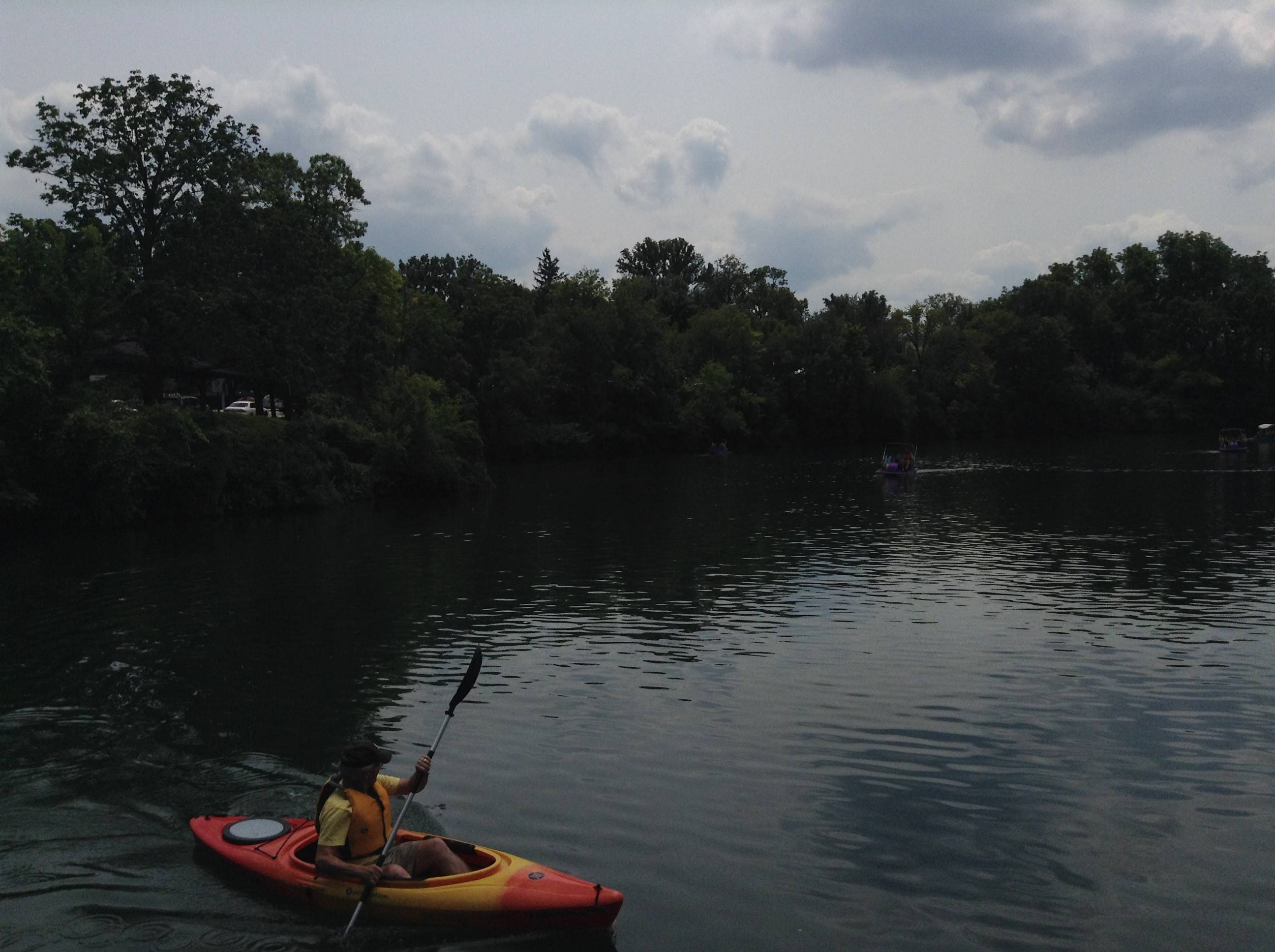Paddleboat Quarry in Naperville was able to open for boating about 12 hours after driver Michael T. Szot, 21, of Geneva, plunged his vehicle into the water early Saturday morning, killing two passengers.