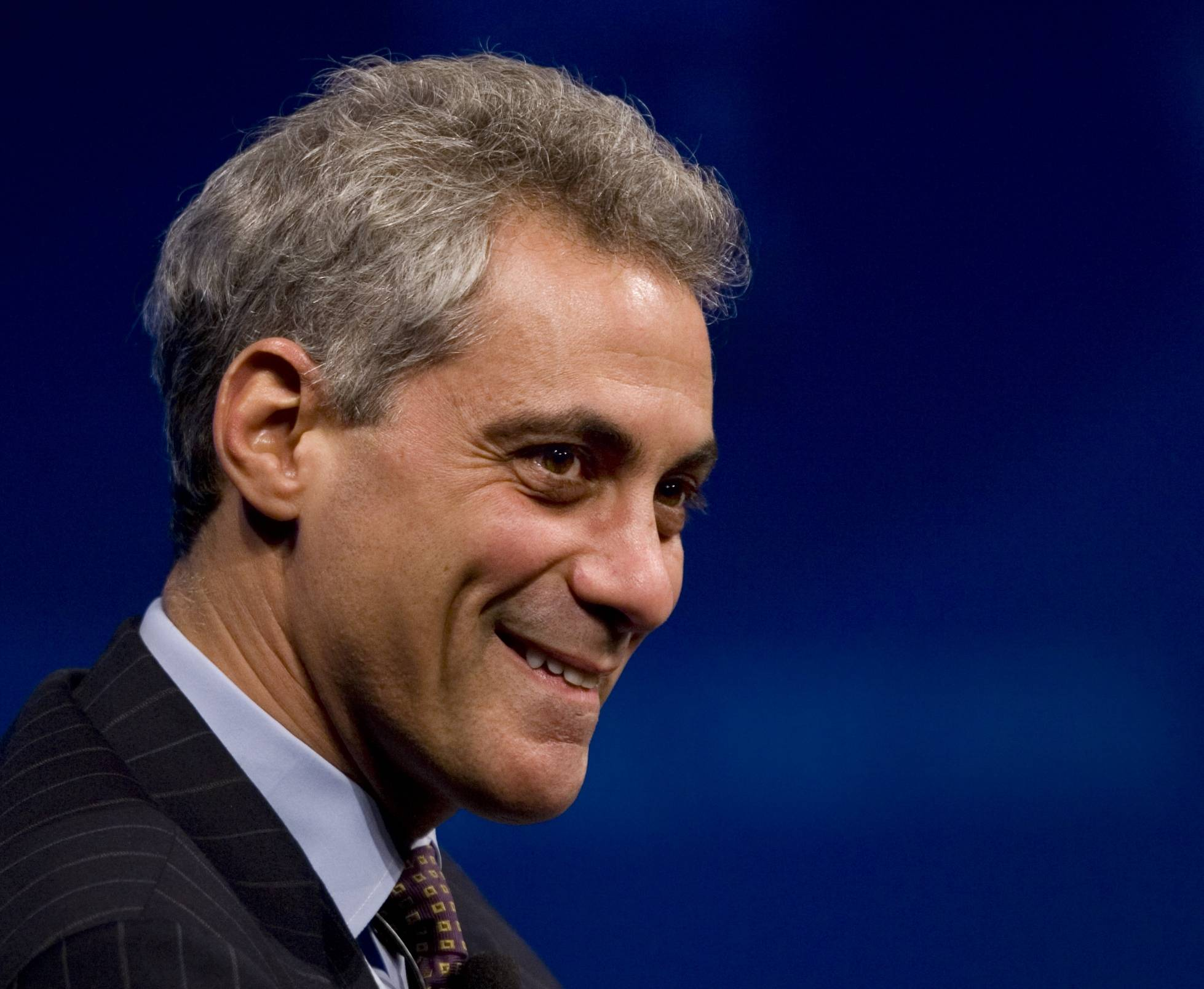 No one in Chicago is talking these days about Rahm Emanuel running for president.