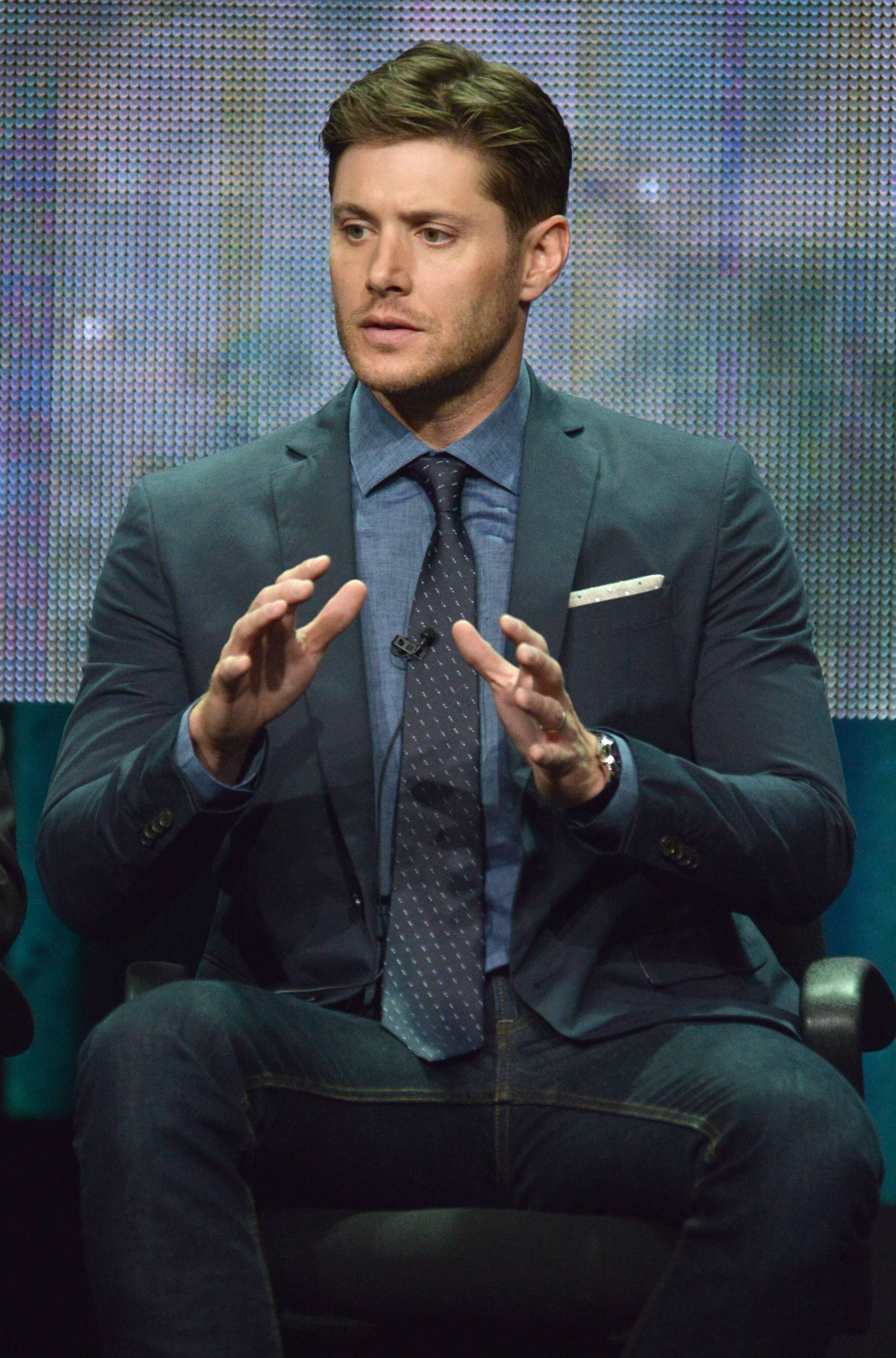 """We still get excited about it,"" Jensen Ackles told journalists Friday at the ""Supernatural"" panel at the The CW 2014 Summer TCA."