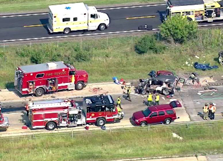Semitrailer trucks were involved in a deadly accident on I-55.