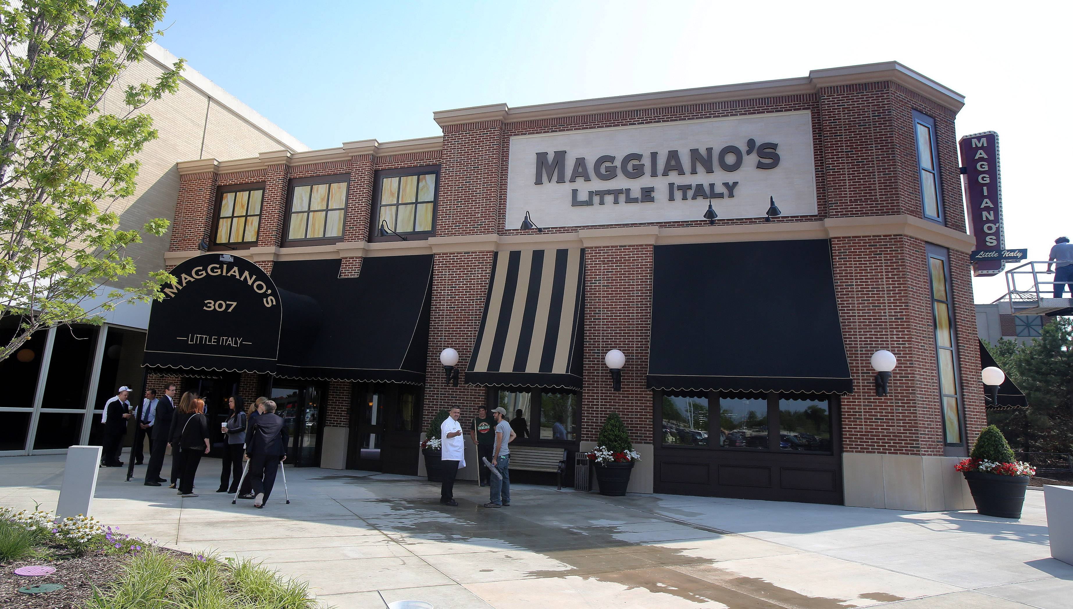 Maggiano's Little Italy opened at Westfield Hawthorn shopping center Monday in Vernon Hills.