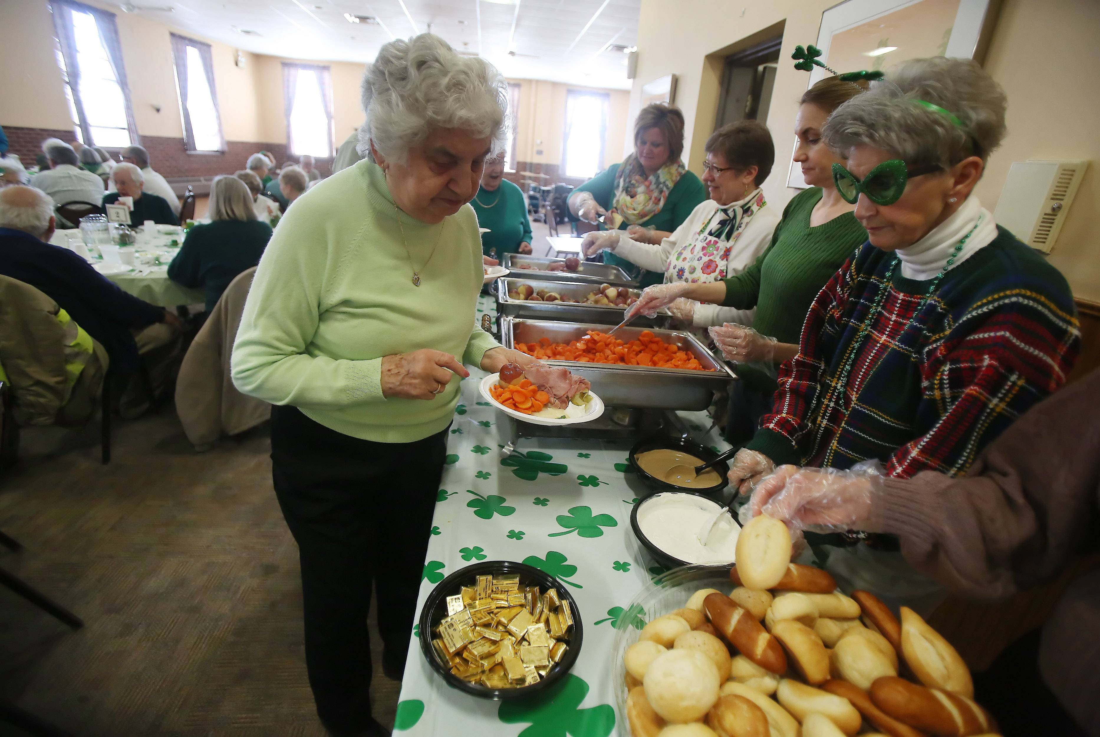 A St. Patrick's Day Party at the Libertyville Senior Center on March 17 in the Libertyville Civic Center.