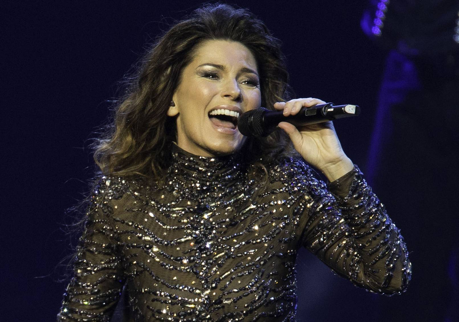 Shania Twain says she'll end her residency at The Colosseum at Caesars Palace in Las Vegas with a final show Dec. 13, two years after she began performing at resort.