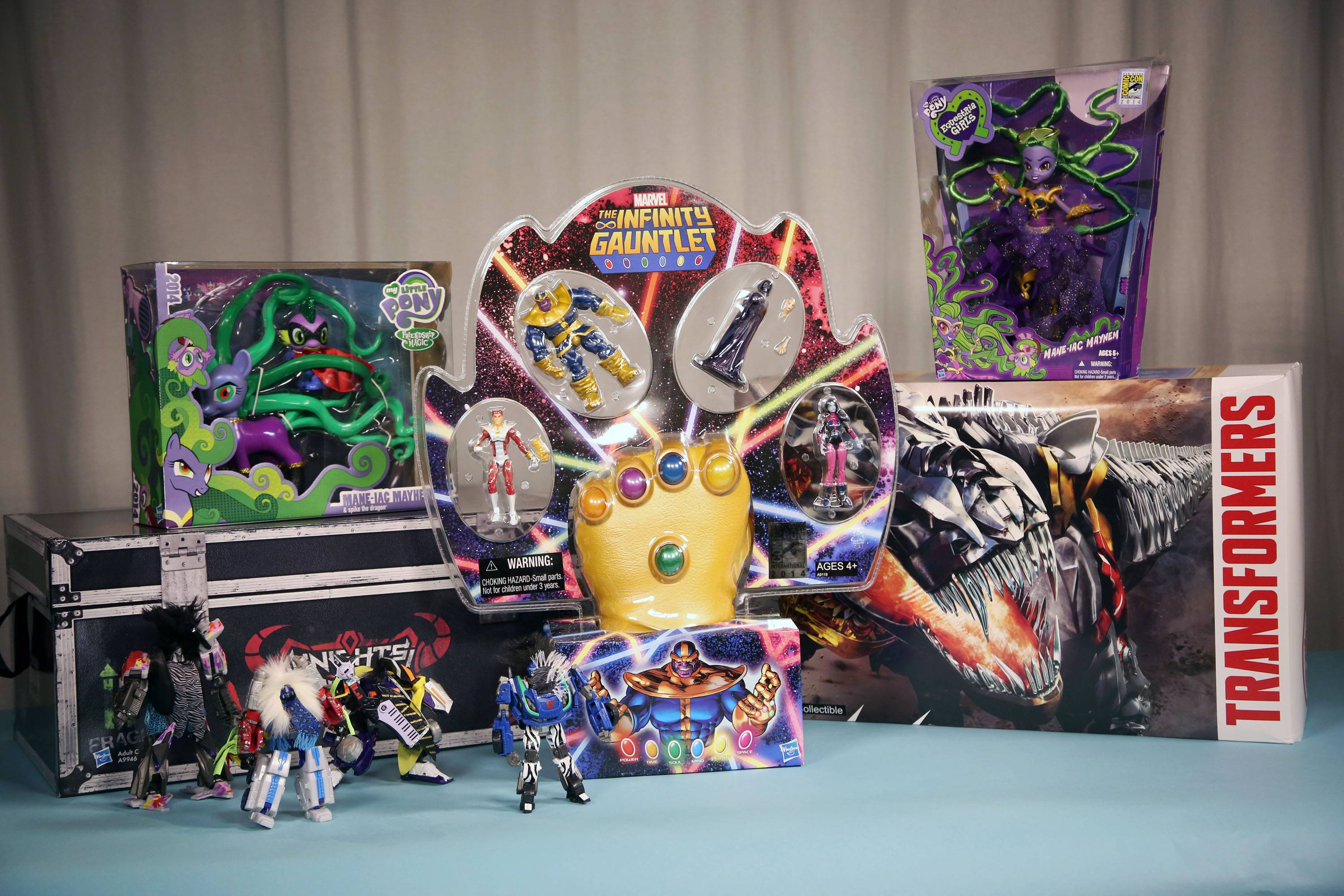 Several toy makers and publishers are offering collectible toys and books at the annual Comic-Con, which kicks off Thursday in San Diego.
