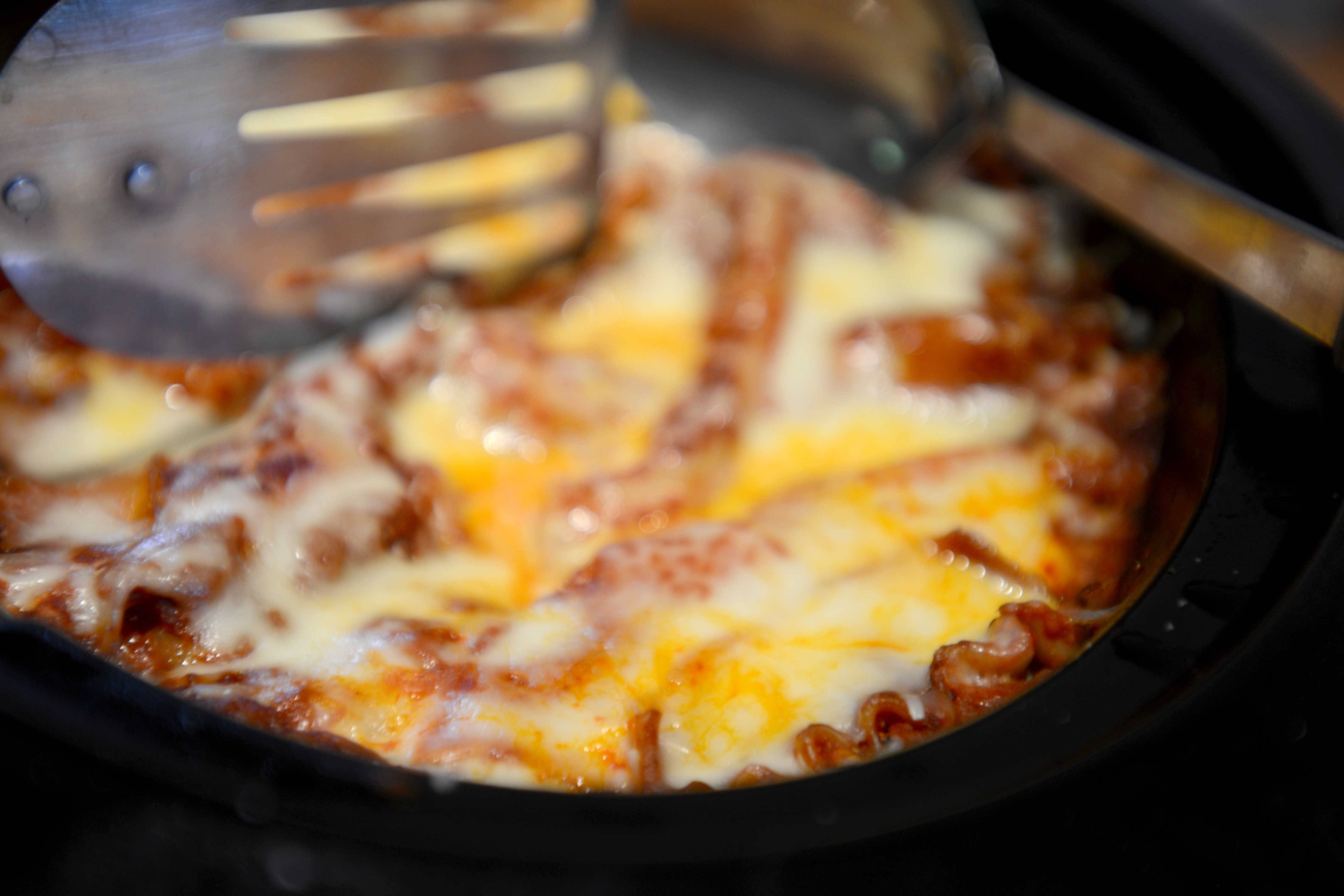 For those hot days when you don't want to turn on the oven, try Penny Kazmier's lasagna that cooks in a crockpot.