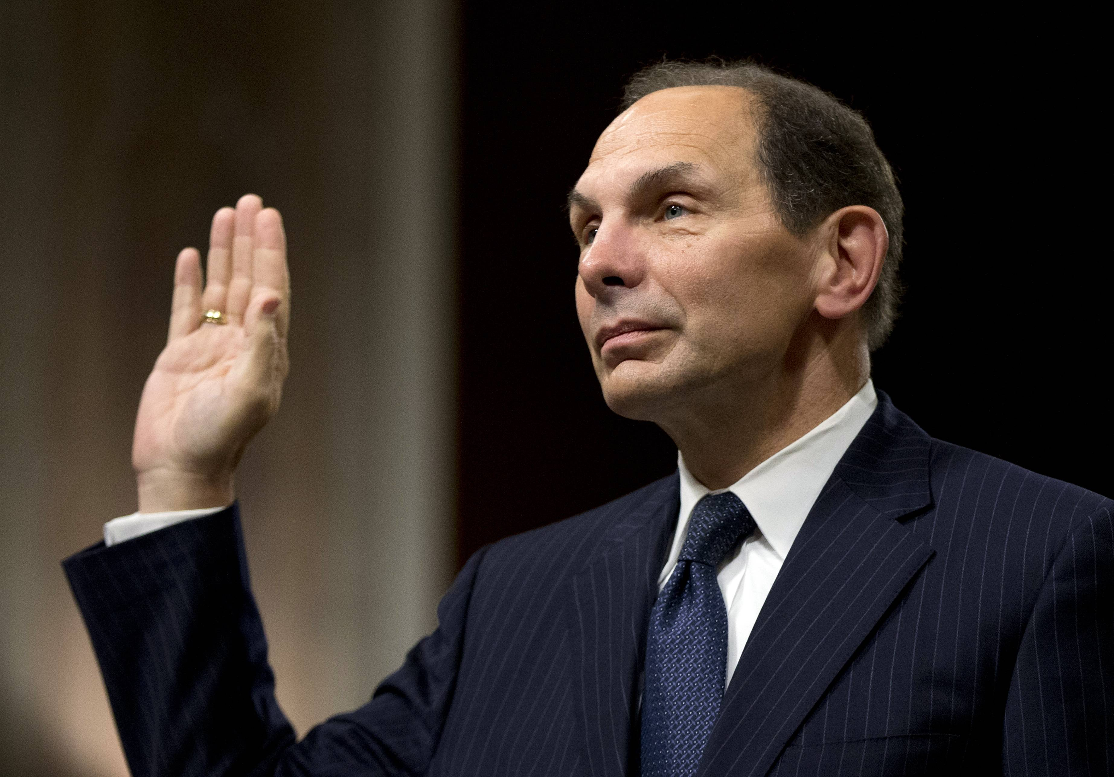 Former Procter & Gamble Chief Executive Officer Bob McDonald said Tuesday he would use the skills he developed during three decades in the private sector to overhaul the troubled U.S. Department of Veterans Affairs.