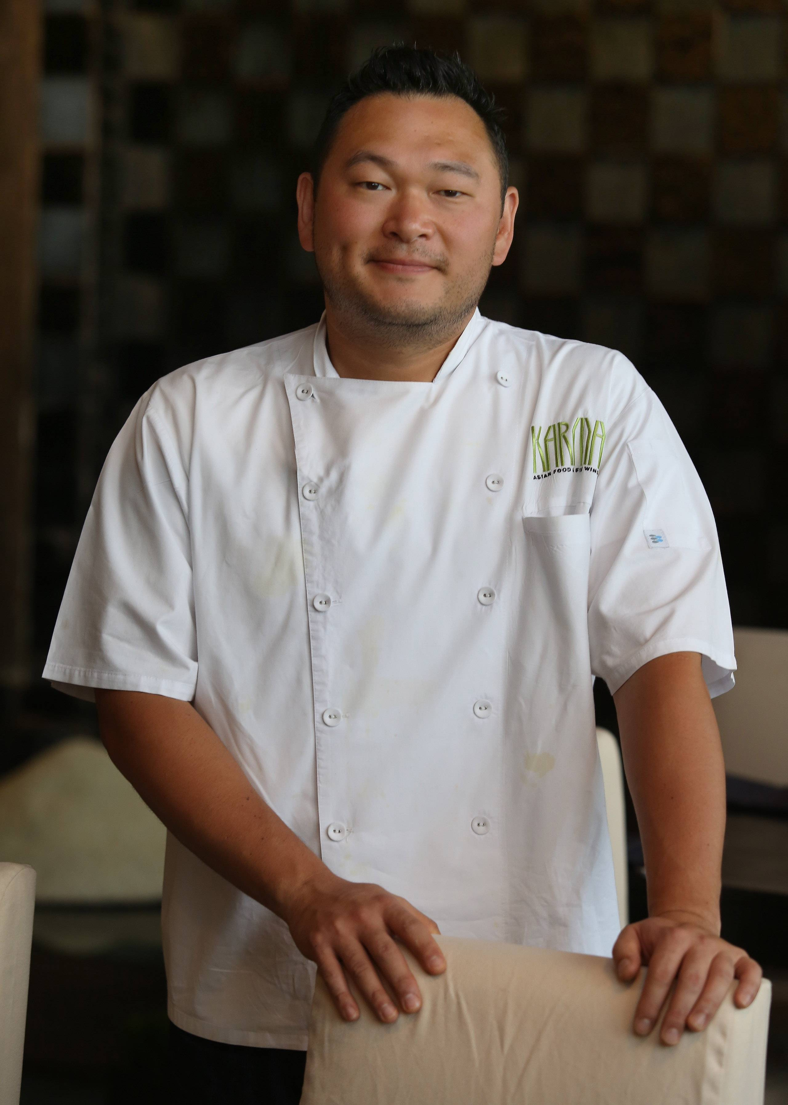 Chef Paul Choi joined Karma as executive chef earlier this year and has upheld the restaurant's reputation for well-crafted Asian-fusion cuisine.