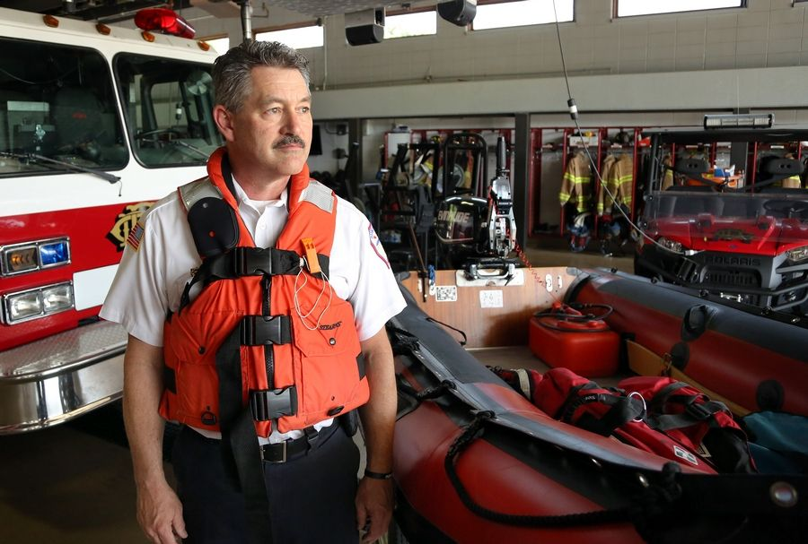 Gurnee Fire Battalion Chief John Skillman, who heads the dive team for Lake and McHenry Counties Specialized Response Teams, says even experienced swimmers can drown when not wearing a personal flotation device while in the middle of a lake.
