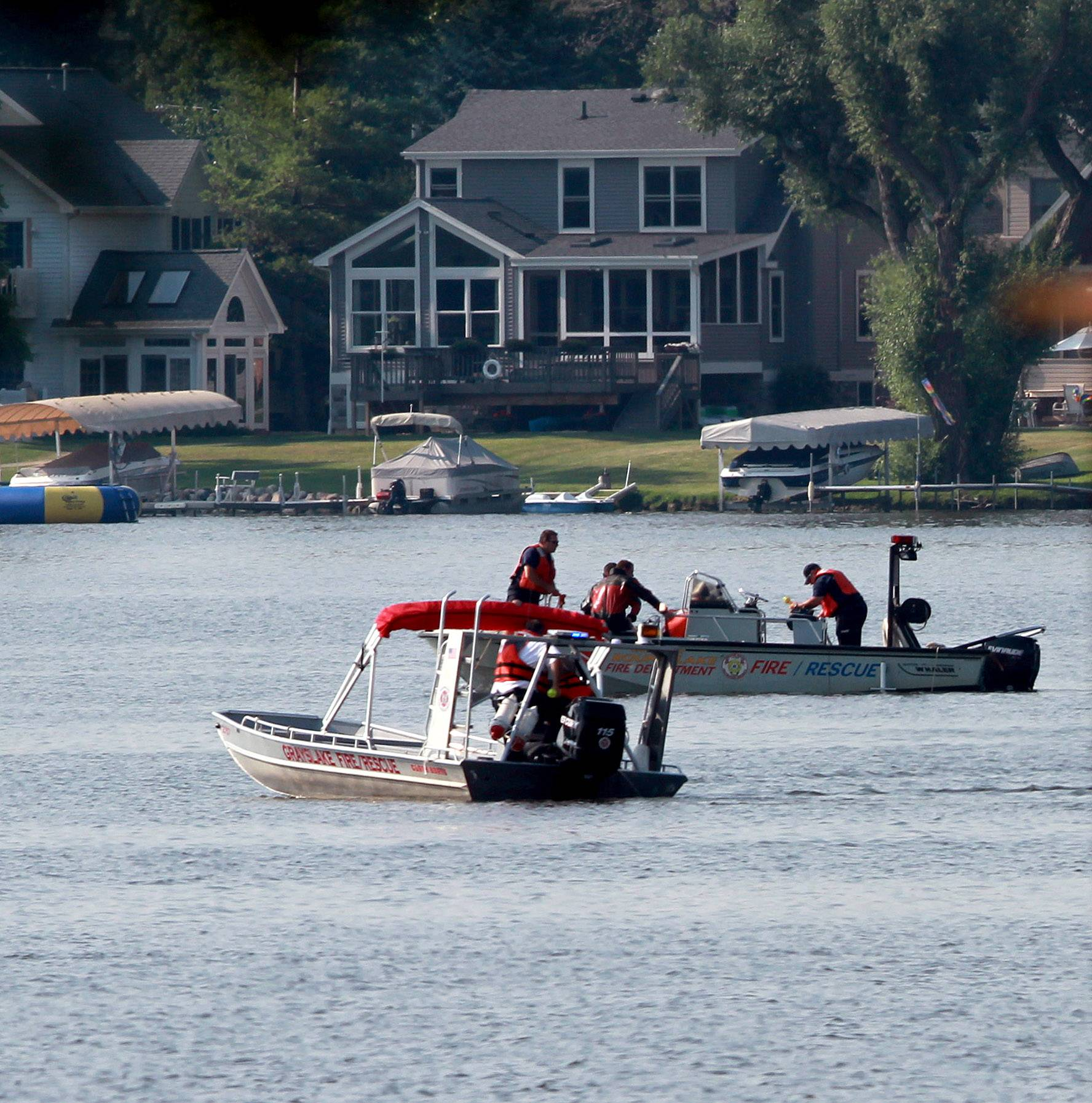 Divers discovered the body of Matt Reed, a junior at Grayslake Central High School, in the water of Third Lake Monday night.