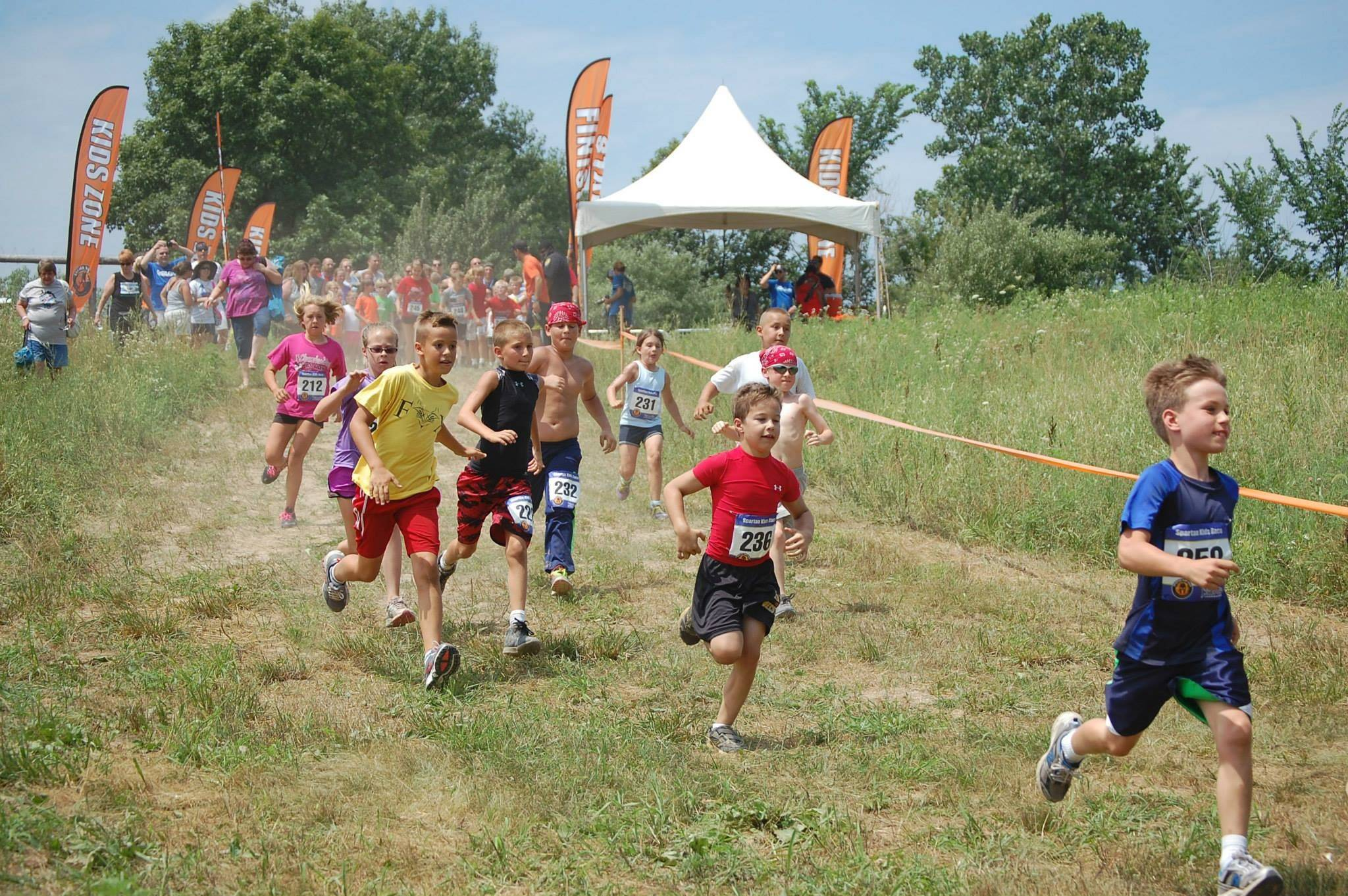The new obstacle race Sean Hastings is bringing to his hometown of Naperville aims to get kids and their parents active and healthy together. The race begins at 9 a.m. Saturday, Aug. 2, in Frontier Park, 3380 Cedar Glade Drive in Naperville.