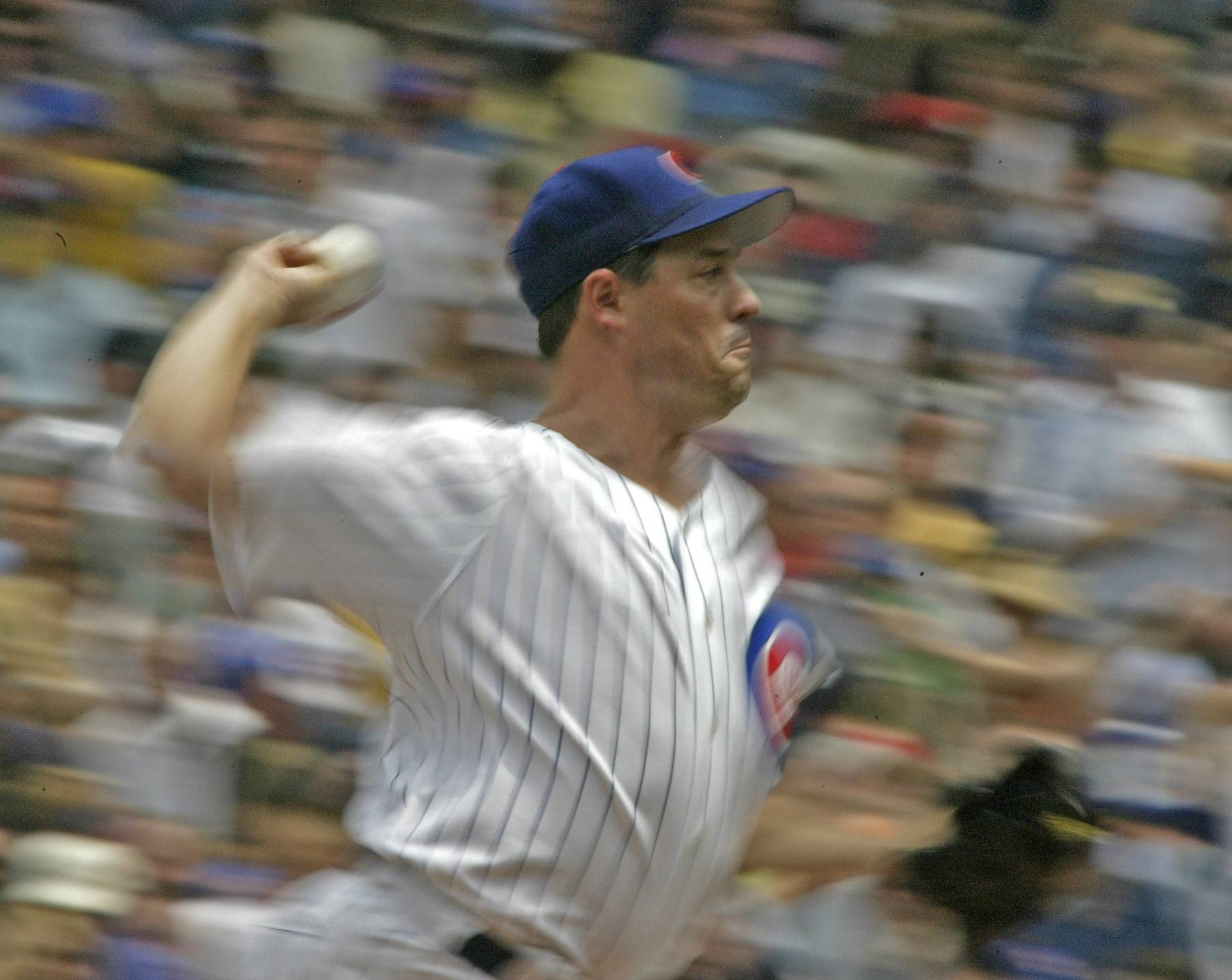 Greg Maddux threw over 5,000 innings in the major leagues, winning 355 games.