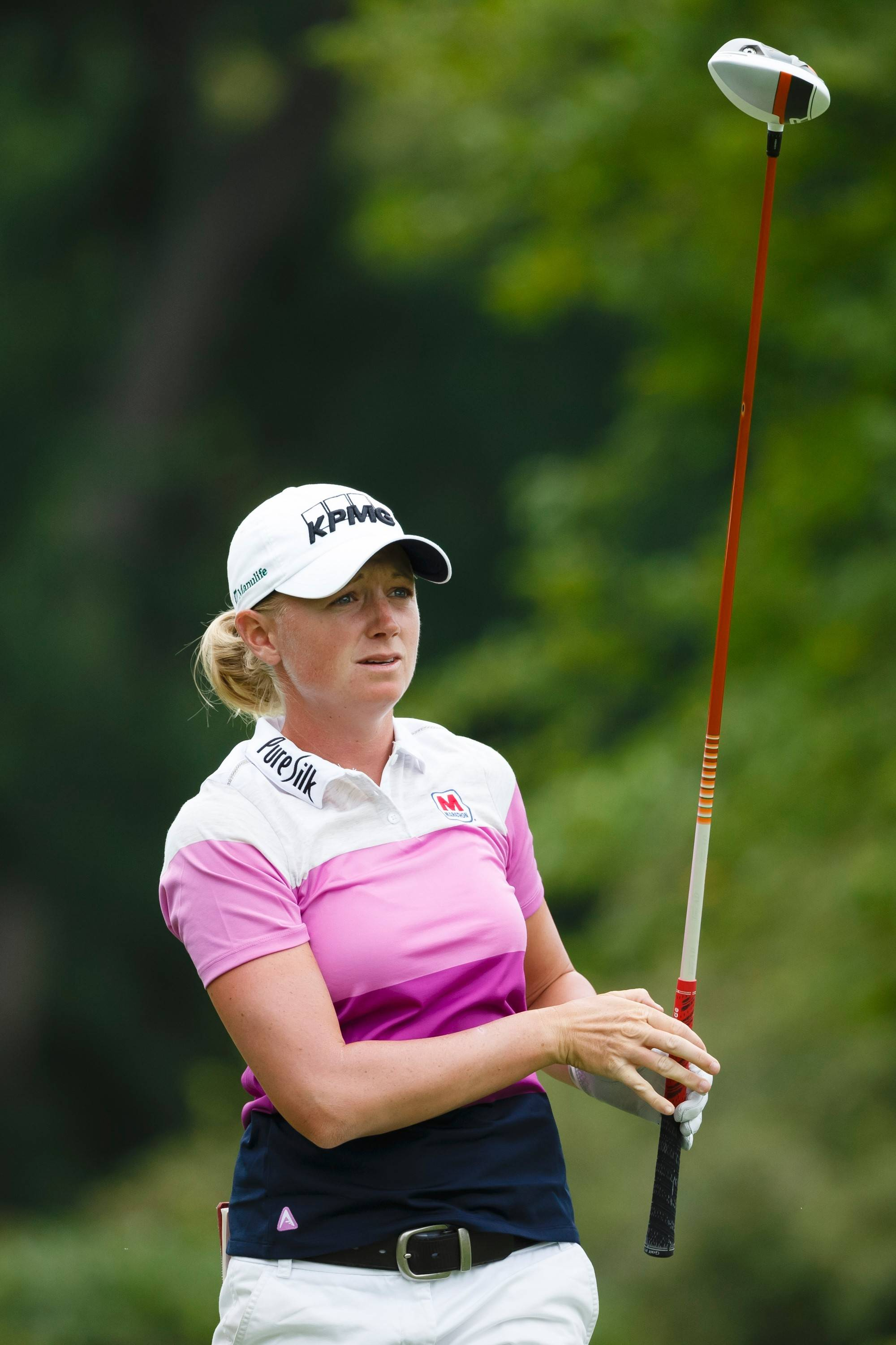 Stacy Lewis, above, will represent the United States in the first International Crown tournament this weekend. The four-member U.S. team includes Paula Creamer, Lexi Thompson and Cristie Kerr.
