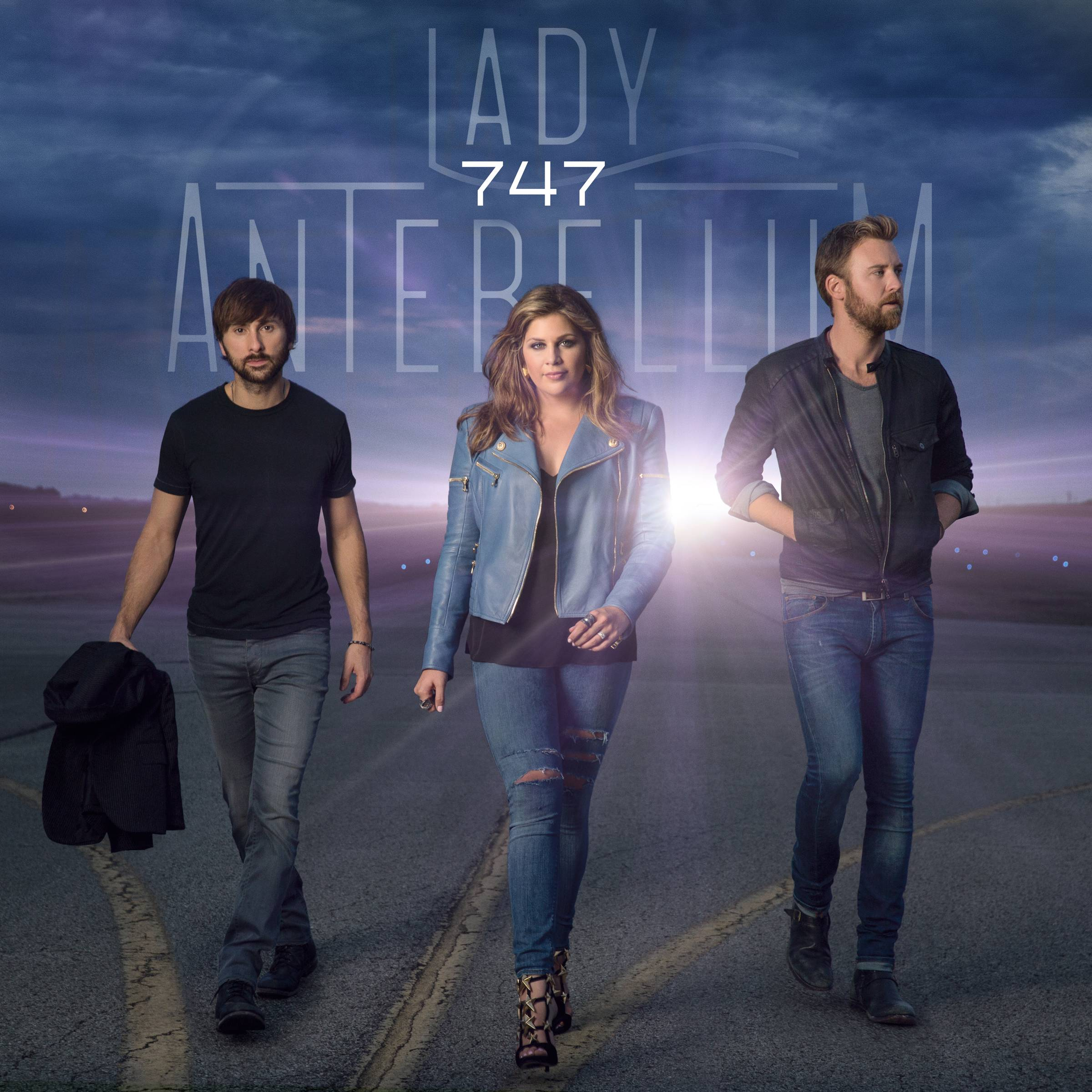 "Lady Antebellum's upcoming album is called ""747."" The name refers to a hook in the title song about how a commercial jetliner can't go fast enough for a man trying to reclaim his love."