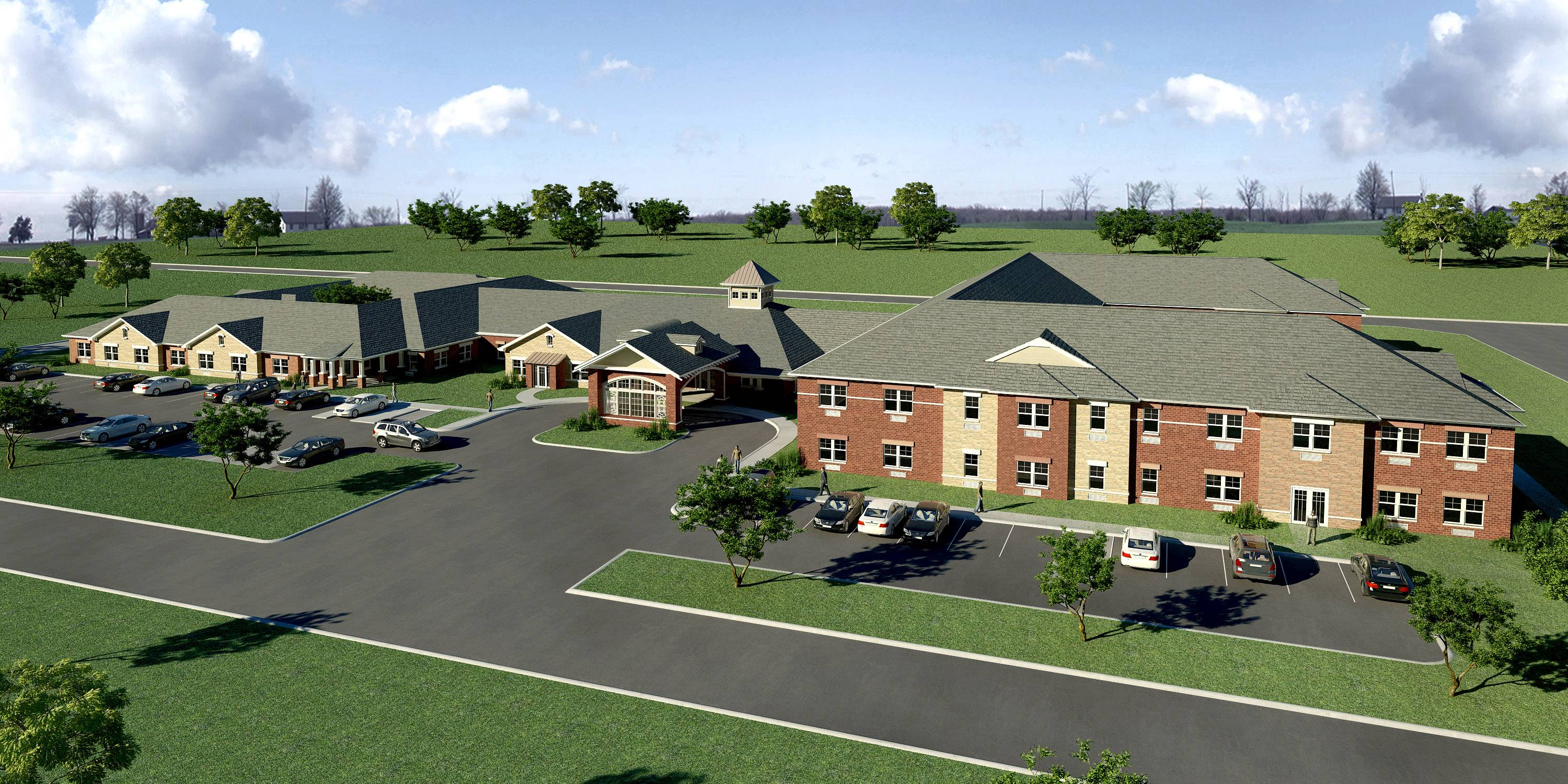 Elgin Memory Care, which will have 56 assisted living and 24 memory care apartments, is being built by Bright Oaks Group at the intersection of Shannon Parkway and Daisy Lane in Elgin.
