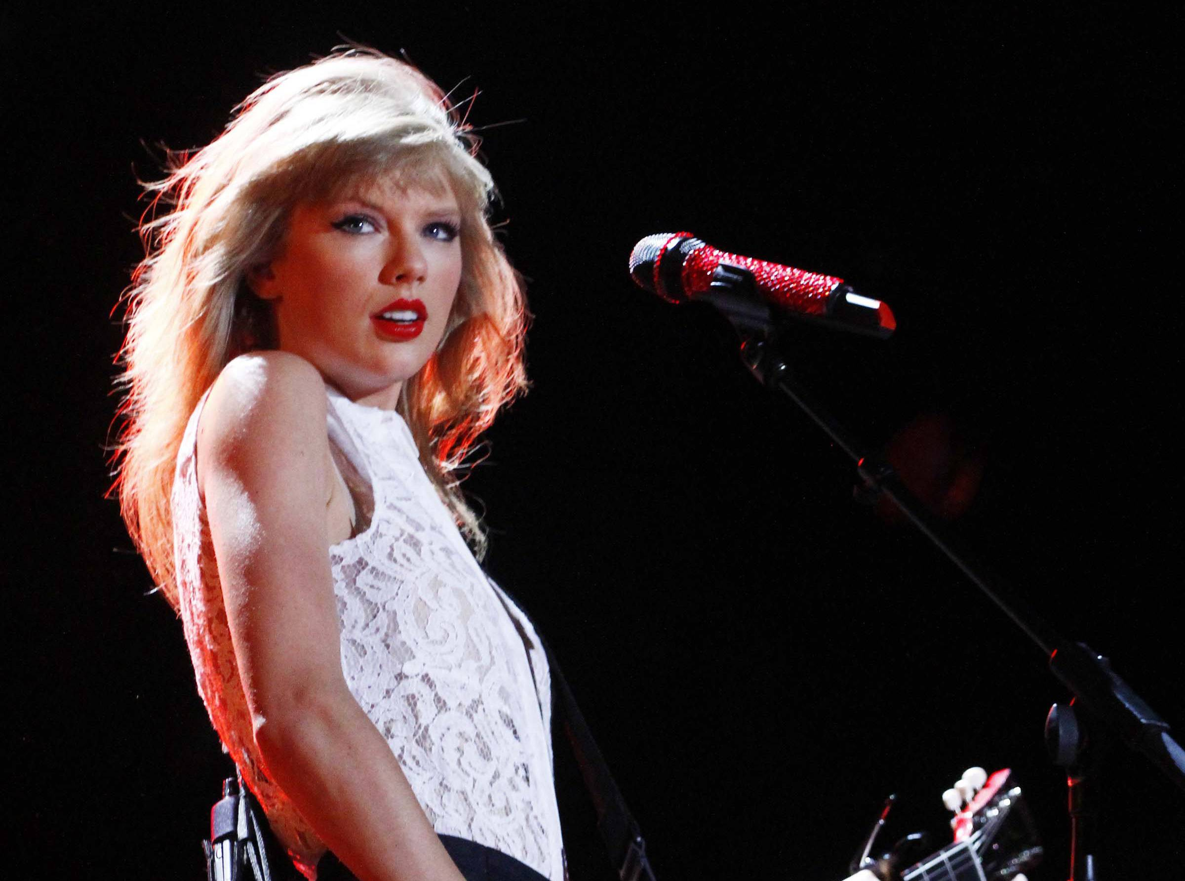 Taylor Swift joins the star-studded lineup for this year's iHeartRadio Music Festival in Las Vegas in September, Clear Channel announced Wednesday.