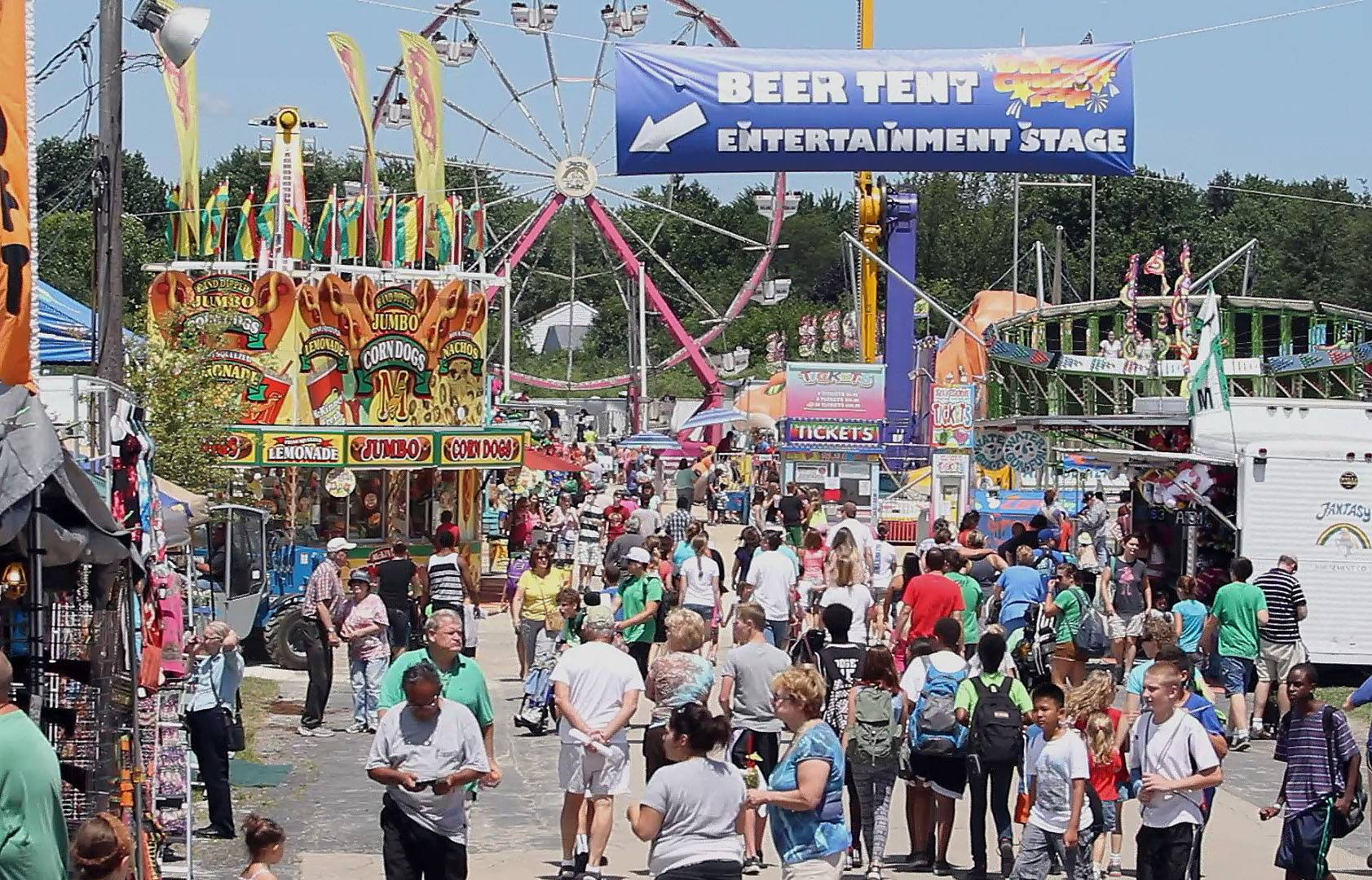 Roughly 100,000 visitors are expected to attend the five-day DuPage County Fair, which opened Wednesday in Wheaton.
