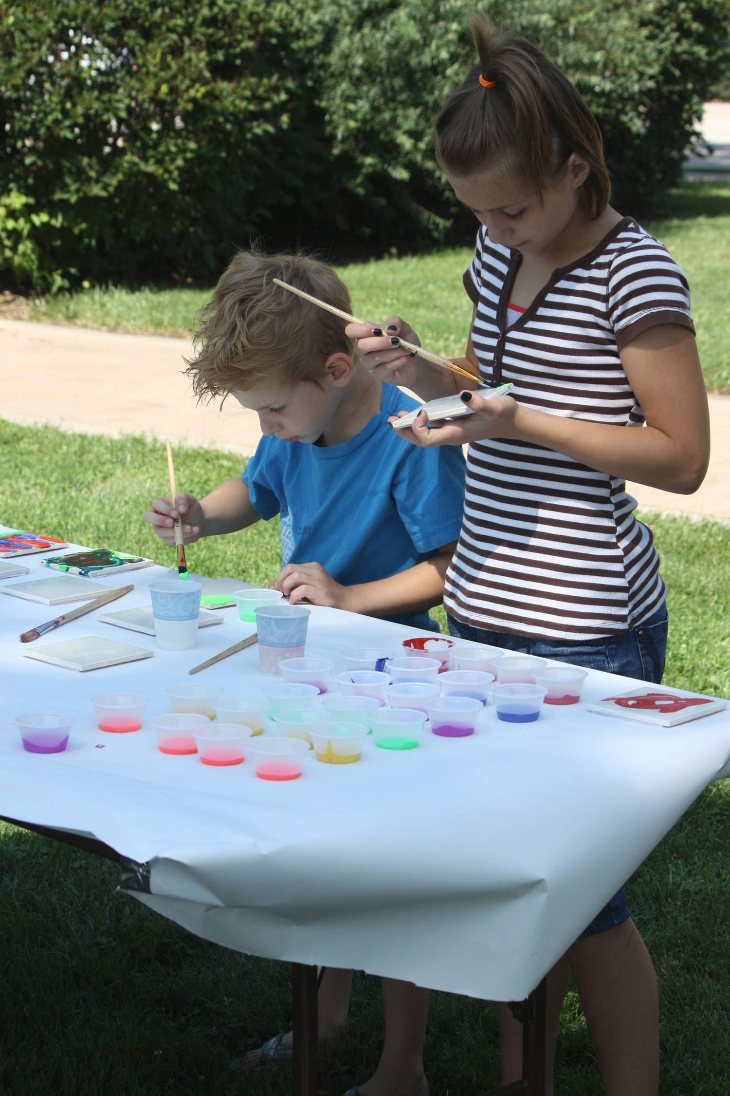 Children will have the opportunity to take on arts projects Saturday during Arts in the Park at Towne Square in downtown Palatine. The free event, which runs from 10 a.m. to 2 p.m., also will include several live musical performances.