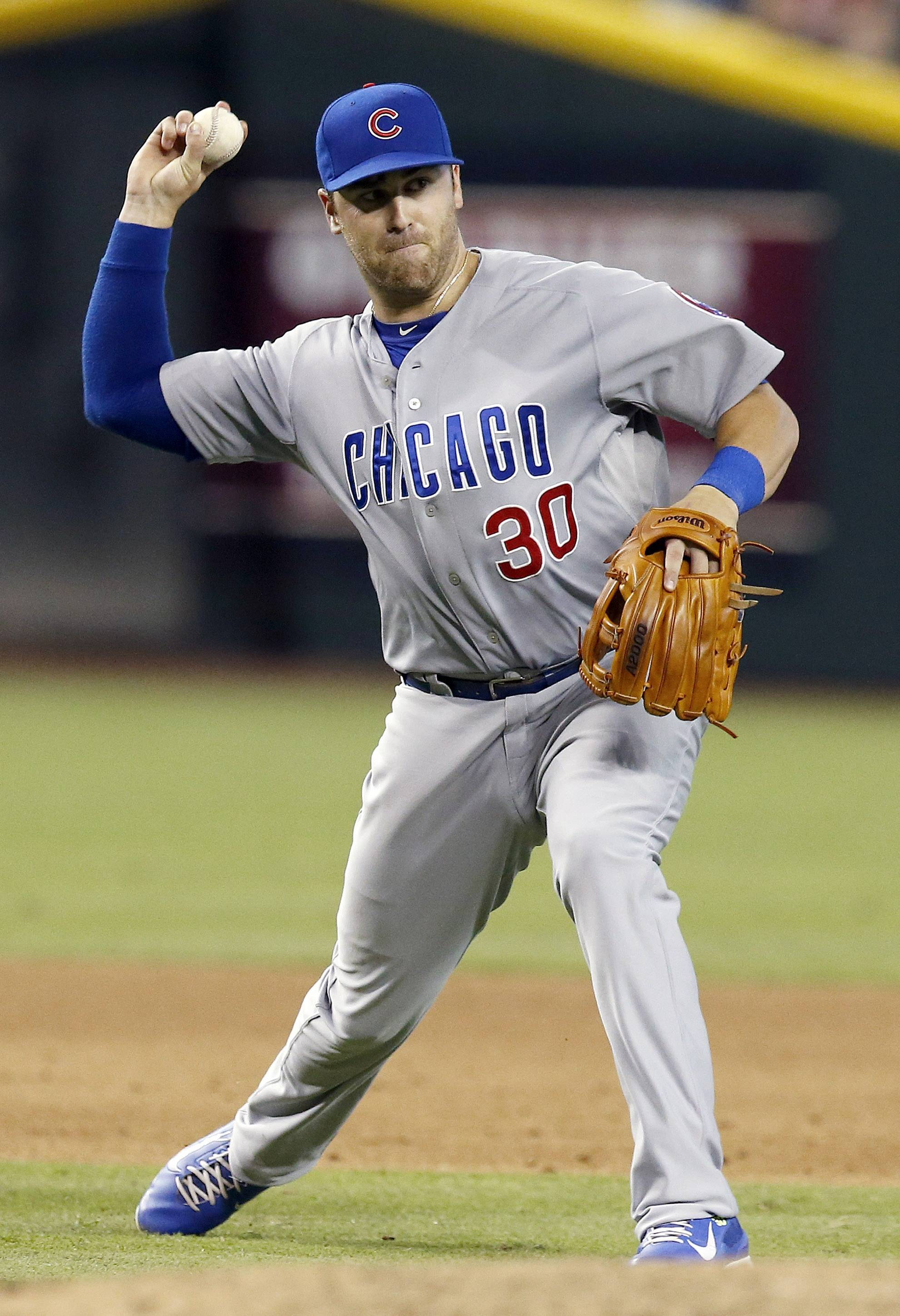 The Cubs had little choice but to send struggling third baseman Mike Olt to the minor leagues. They did that after Tuesday night's game, optioning Olt to Class AAA Iowa.  Olt went 0-for-4 in that game, as his season hitting line dropped to .139/.222/.353 with 12 home runs and 30 RBI. However, Olt struck out 84 times in 212 plate appearances for a strikeout rate of 39.6 percent.