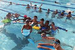 The Barracuda swim team is a multi-level program that offers children an opportunity to develop a life-long love for swimming.Schuamburg Park District