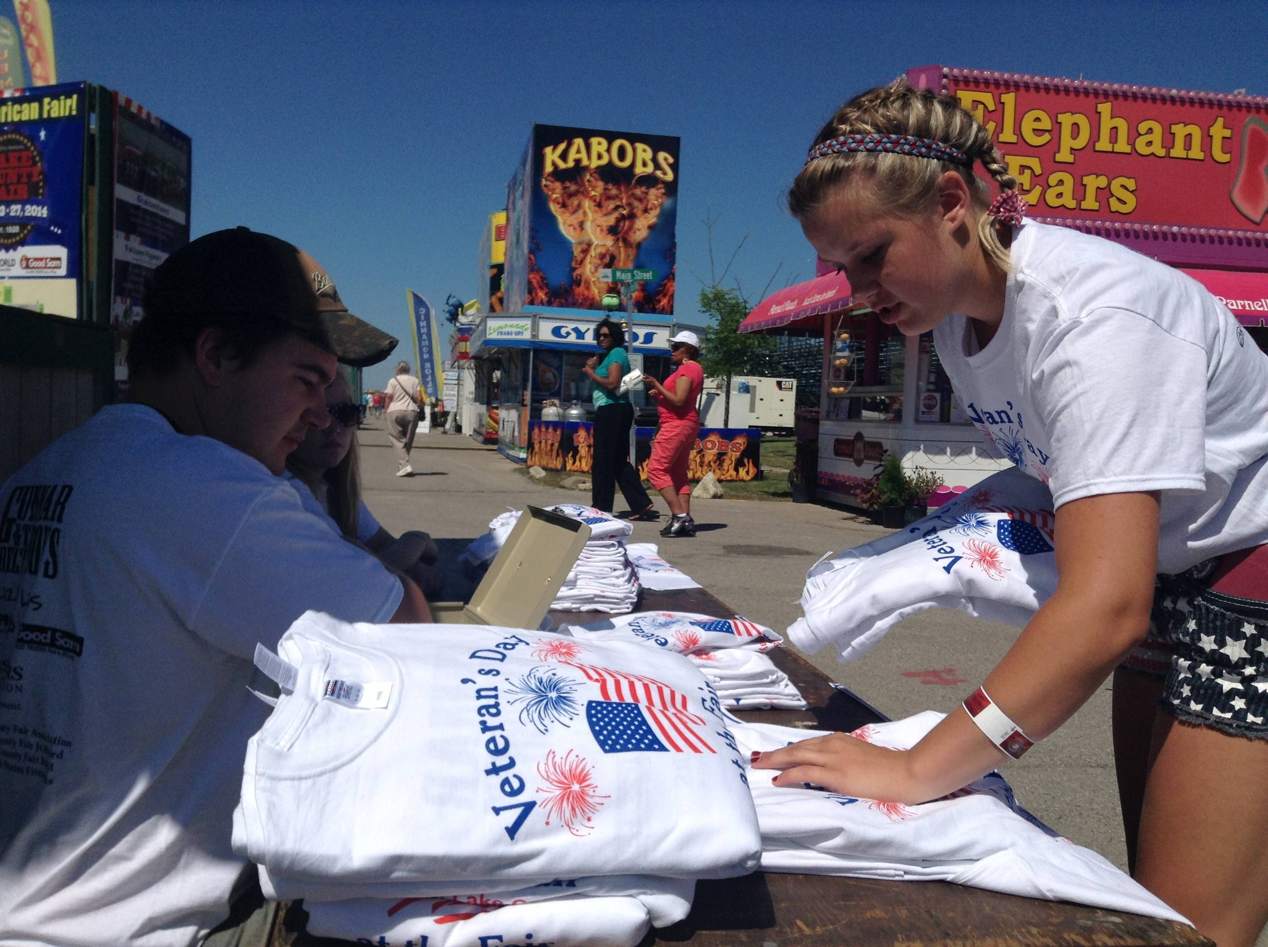 Young Lake County Fair leaders behind effort to honor vets