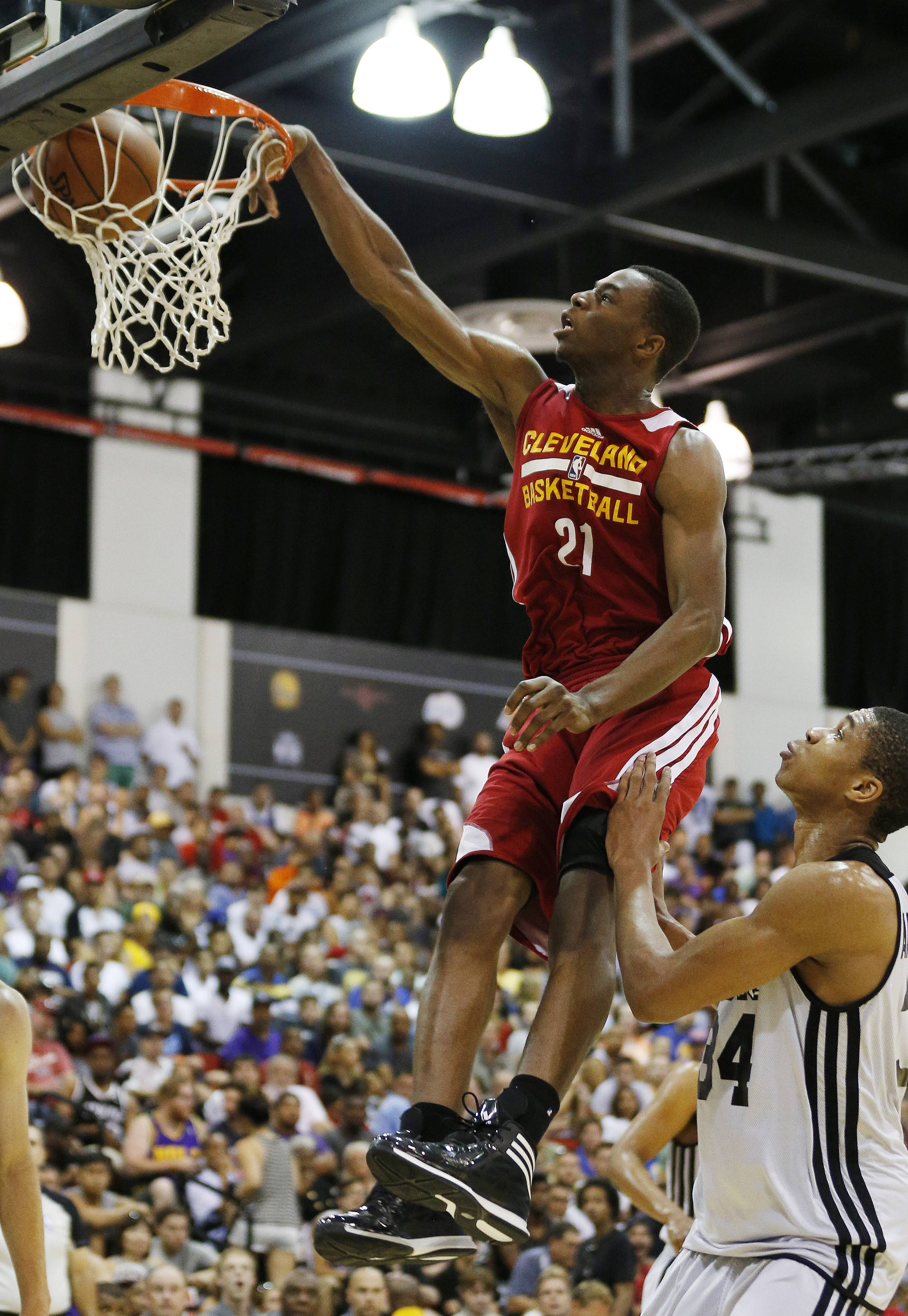 Andrew Wiggins has an NBA home. Maybe a temporary one. The Cavaliers signed the No. 1 overall draft pick Thursday, a deal that prevents Wiggins from being traded for 30 days. Wiggins has been linked to a possible blockbuster trade with Minnesota for All-Star forward Kevin Love. But any deal now involving Wiggins can't be finalized for at least 30 days.
