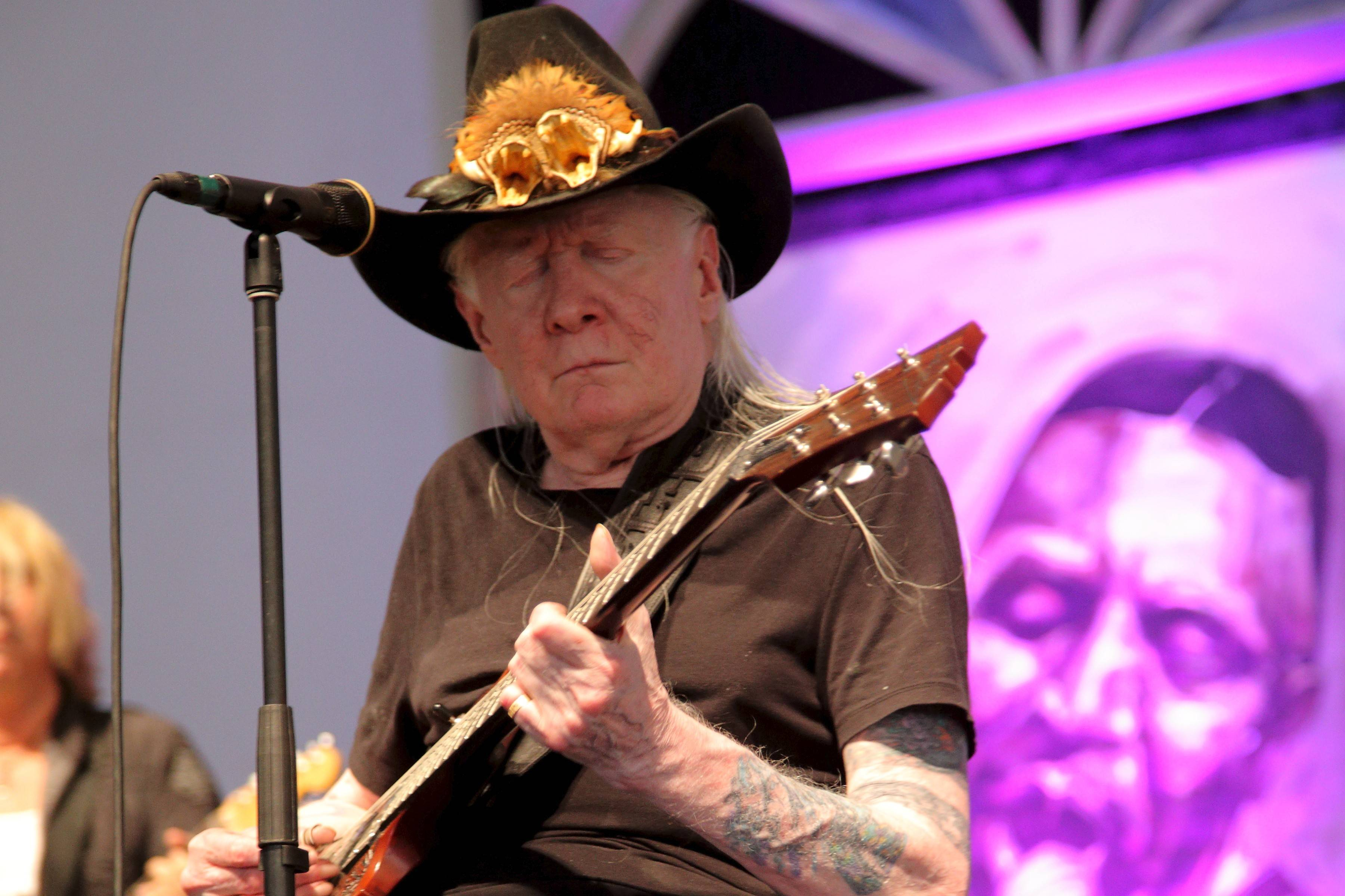 Johnny Winter performed at the 2014 New Orleans Jazz & Heritage Festival this past May and was slated to appear with his brother, Edgar, next month at the Genesee Theatre in Waukegan. Now, the Aug. 10 concert will be a tribute to Johnny Winter, who died last week.