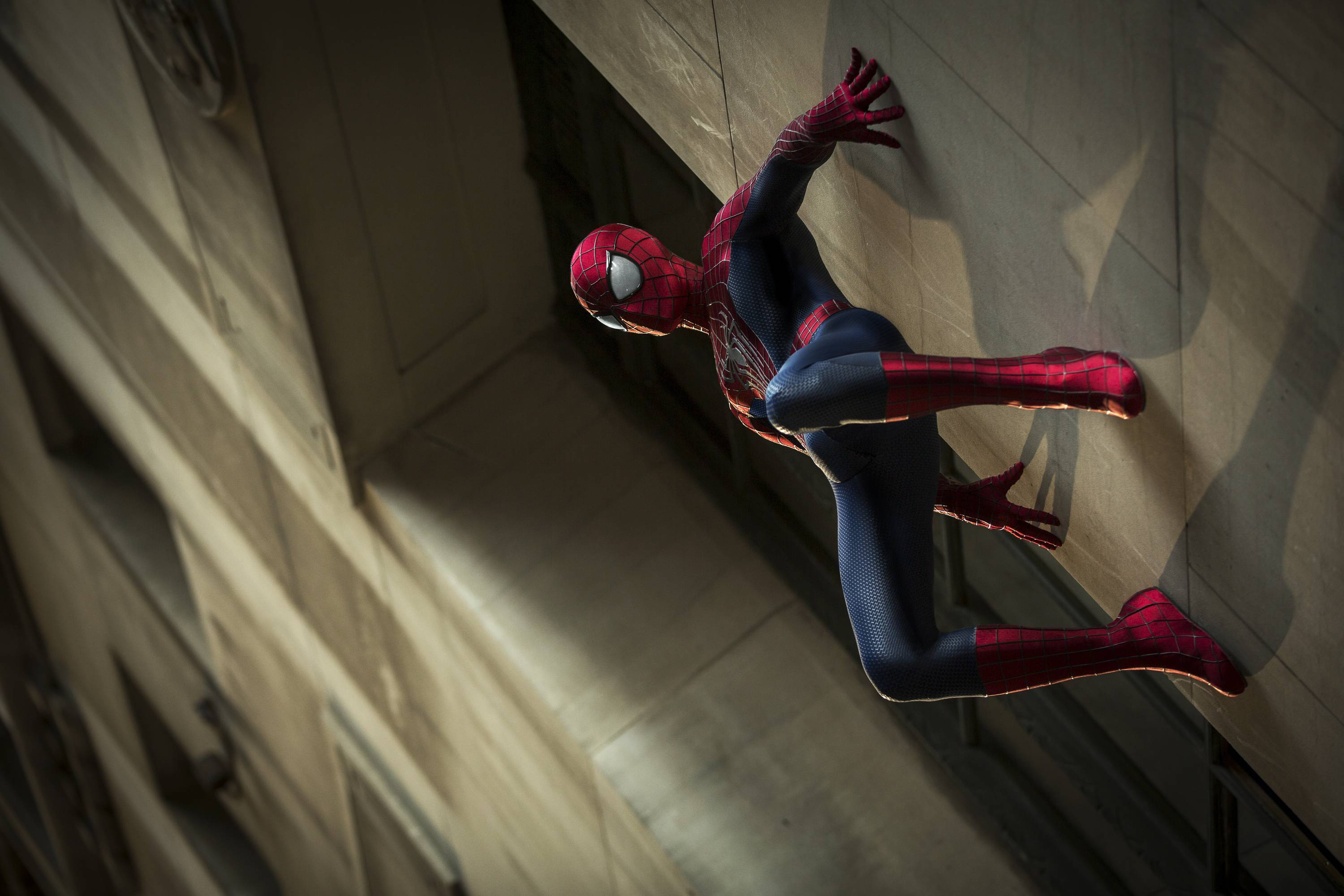 "Andrew Garfield stars as Spider-Man in Columbia Pictures' ""The Amazing Spider-Man 2."" The Spider-Man franchise will detour next with a ""Sinister Six"" spinoff in 2016, pushing ""The Amazing Spider-Man 3"" to 2018."